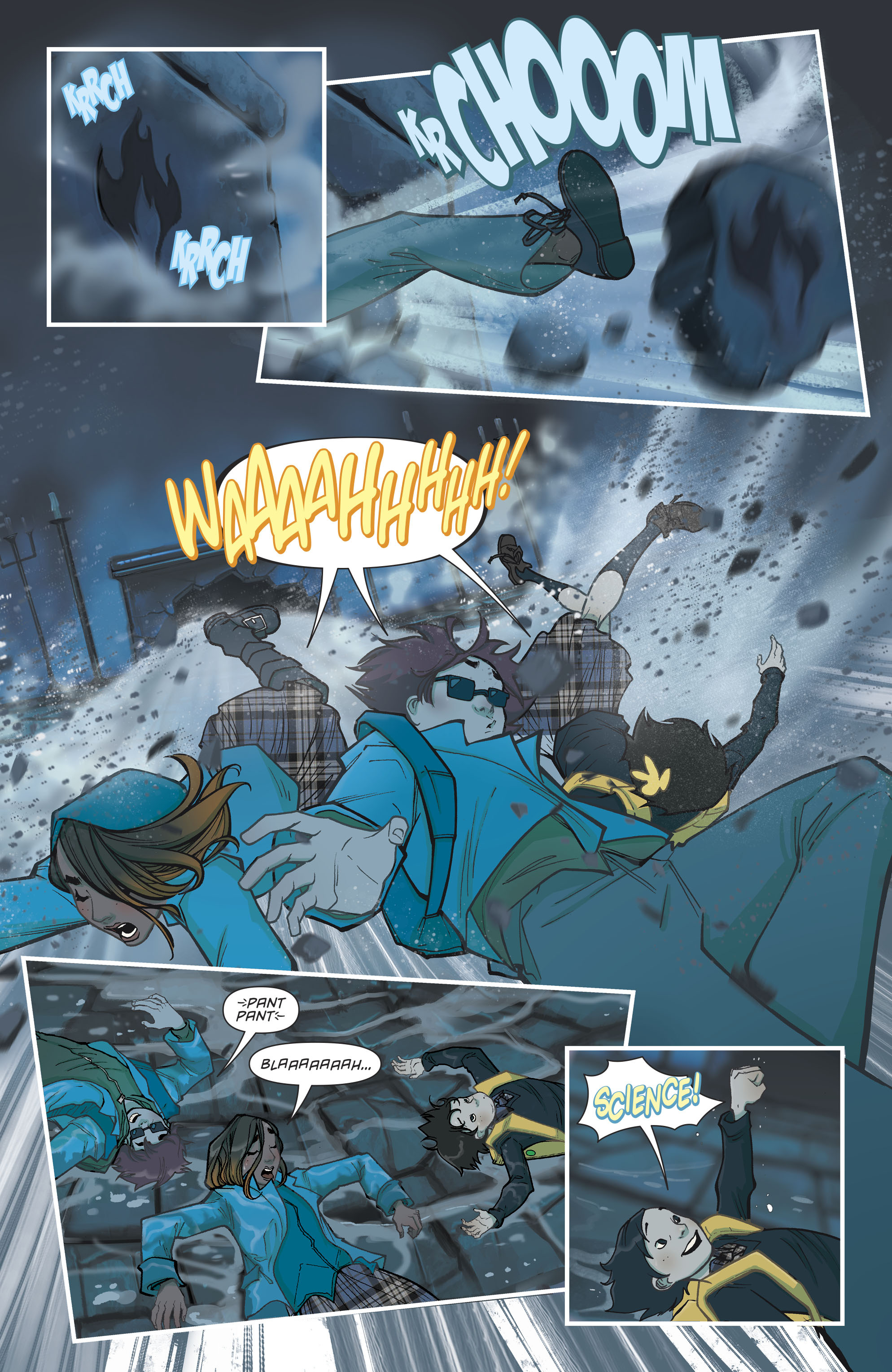 Read online Gotham Academy: Second Semester comic -  Issue #9 - 17