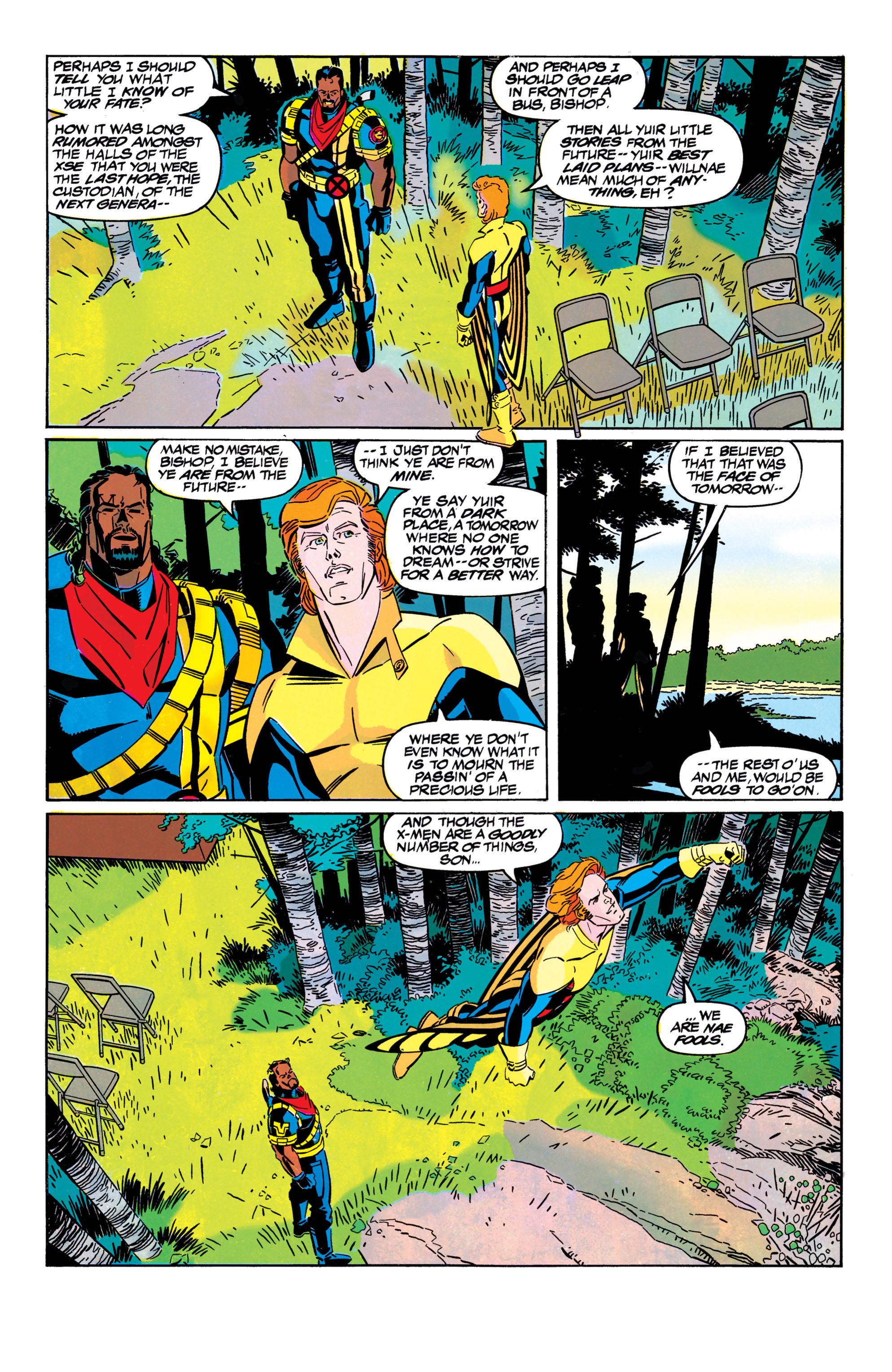 Read online Uncanny X-Men (1963) comic -  Issue #304 - 22