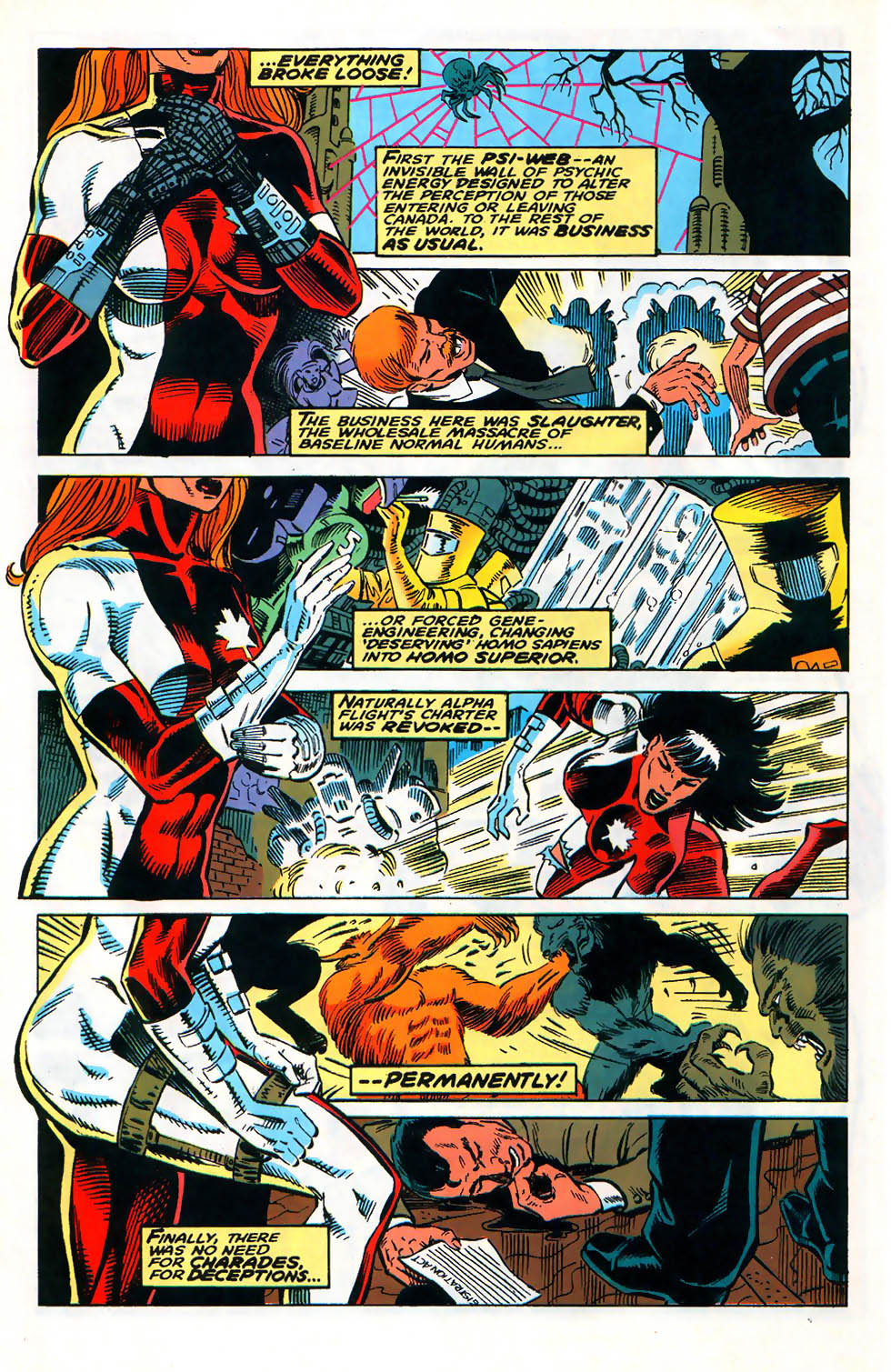 Alpha Flight (1983) issue 128 - Page 10