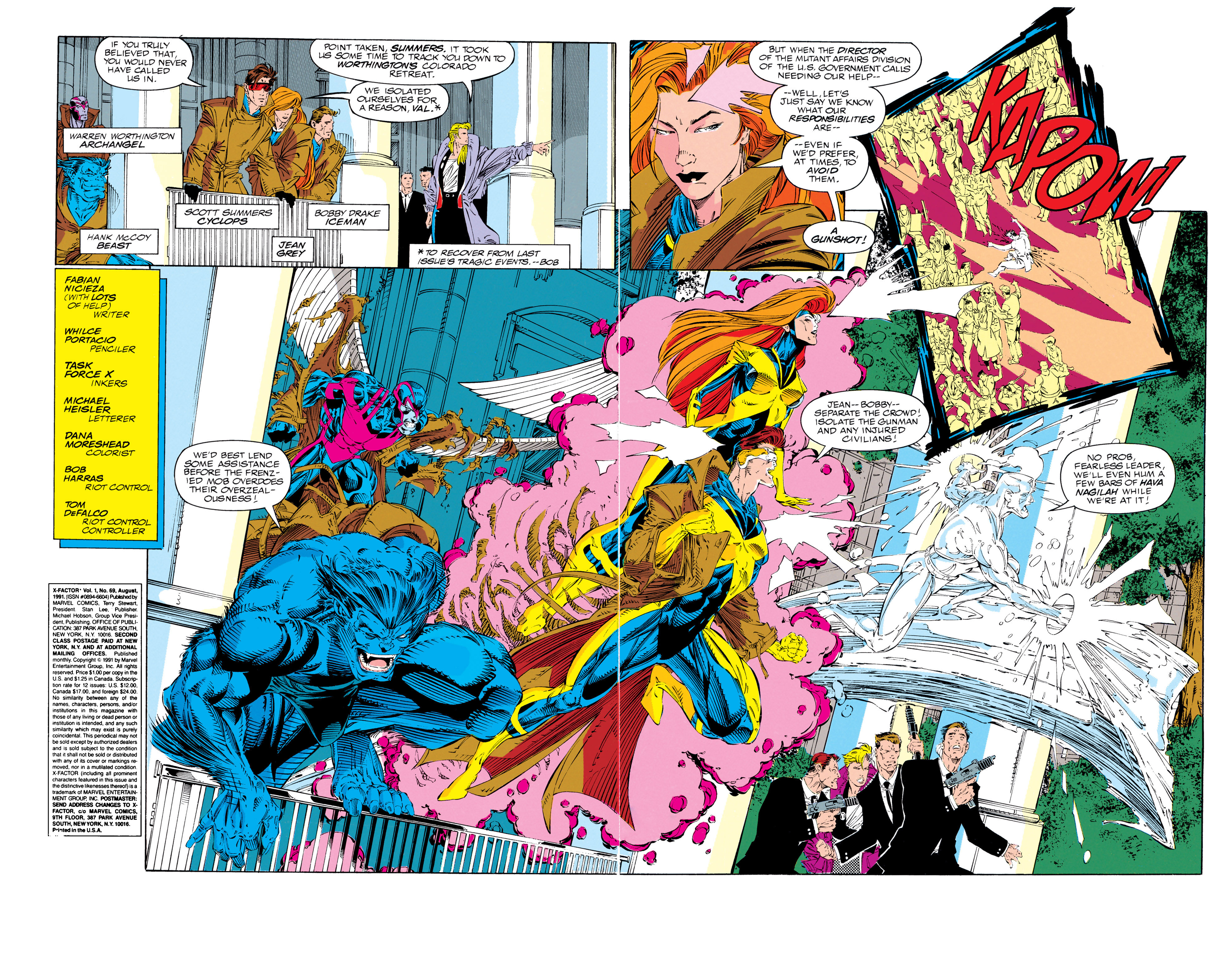 Read online X-Factor (1986) comic -  Issue #69 - 3