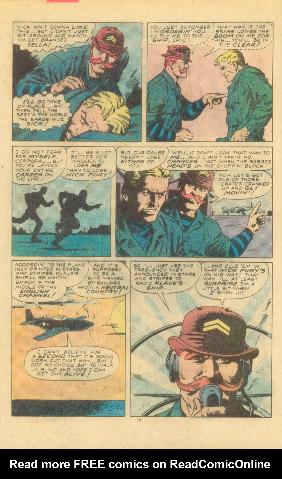 Read online Sgt. Fury comic -  Issue #155 - 16