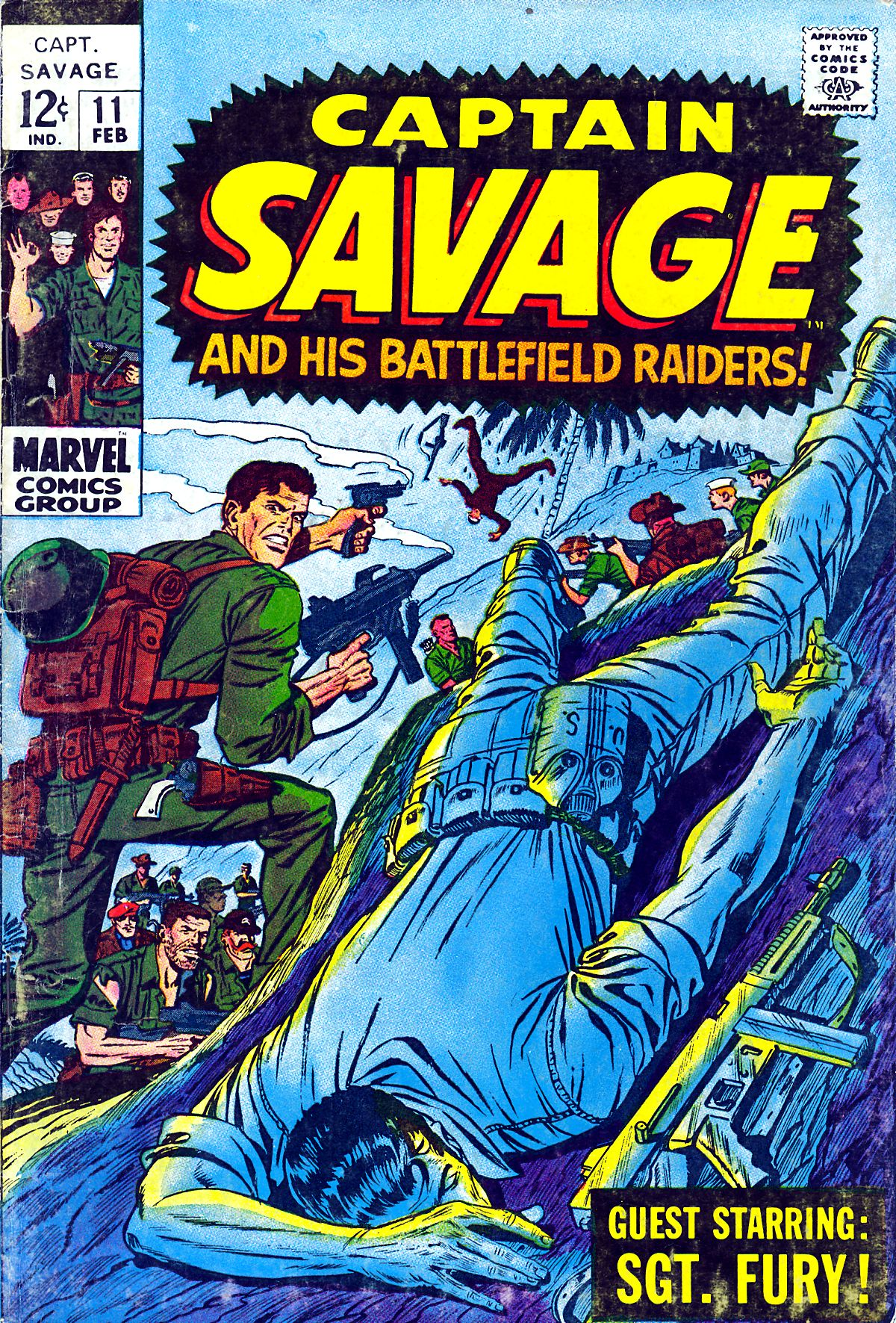 Captain Savage and his Leatherneck Raiders 11 Page 1