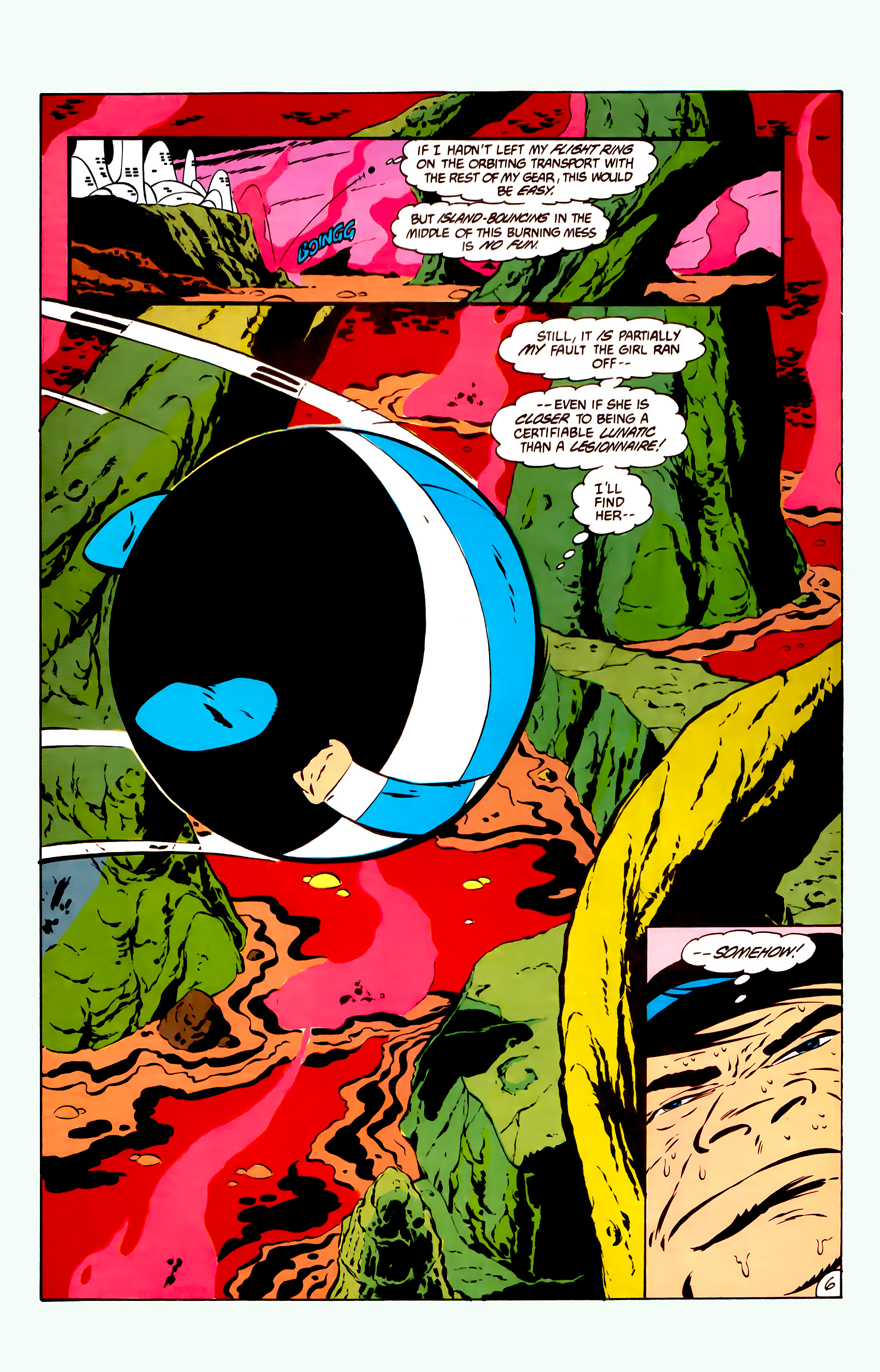 Legion of Super-Heroes (1984) 11 Page 19
