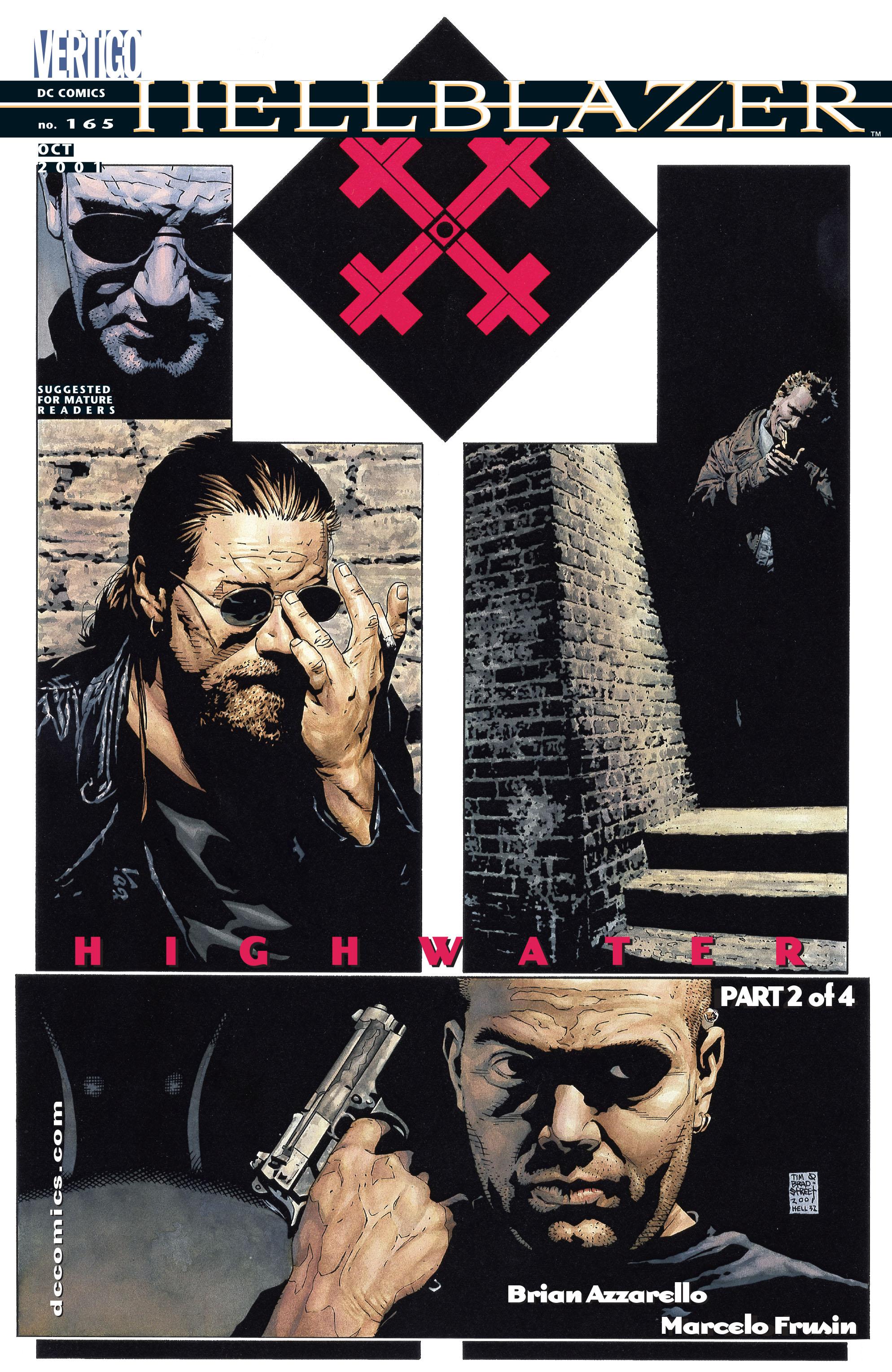 Hellblazer issue 165 - Page 1