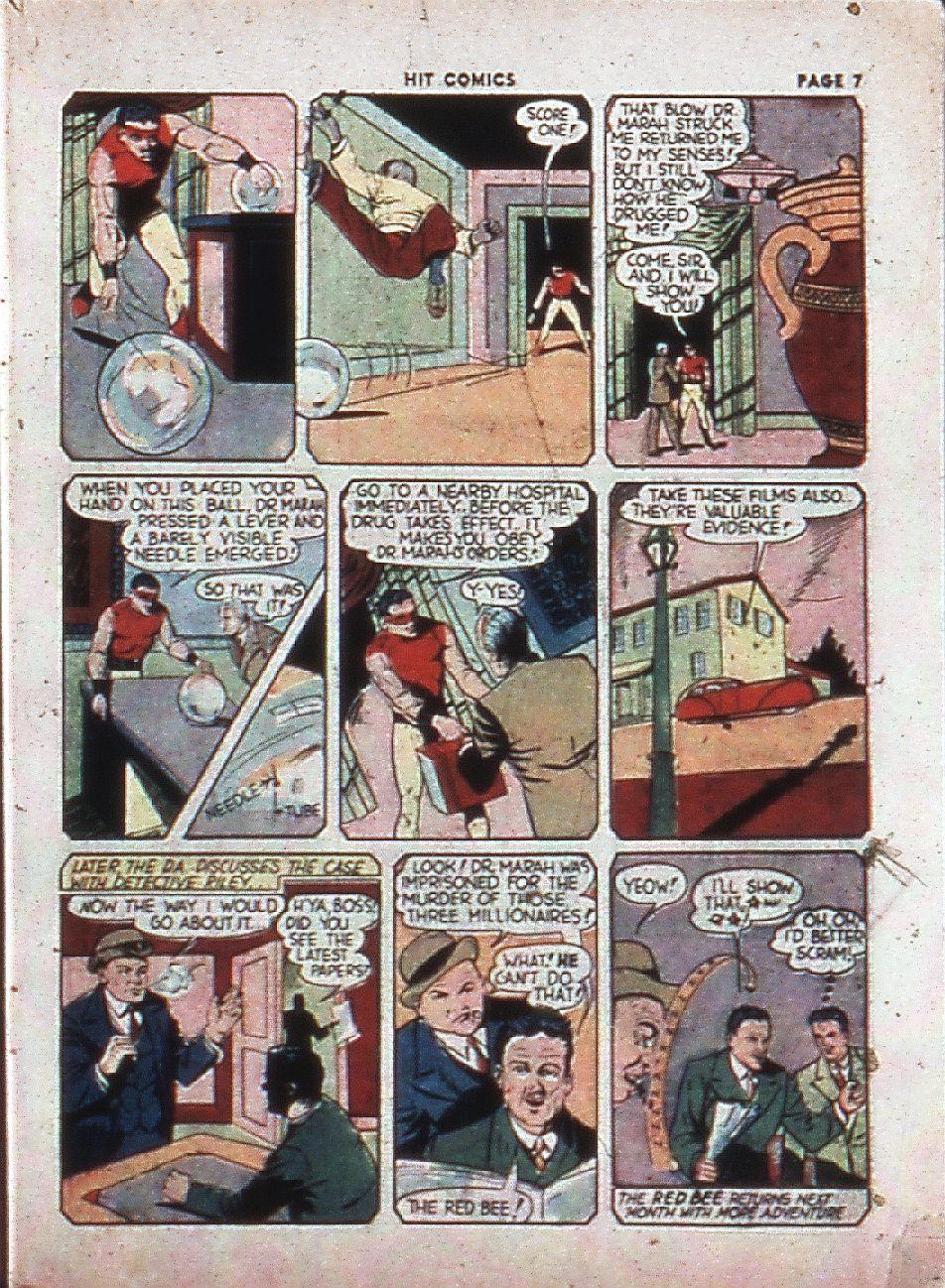 Read online Hit Comics comic -  Issue #4 - 9