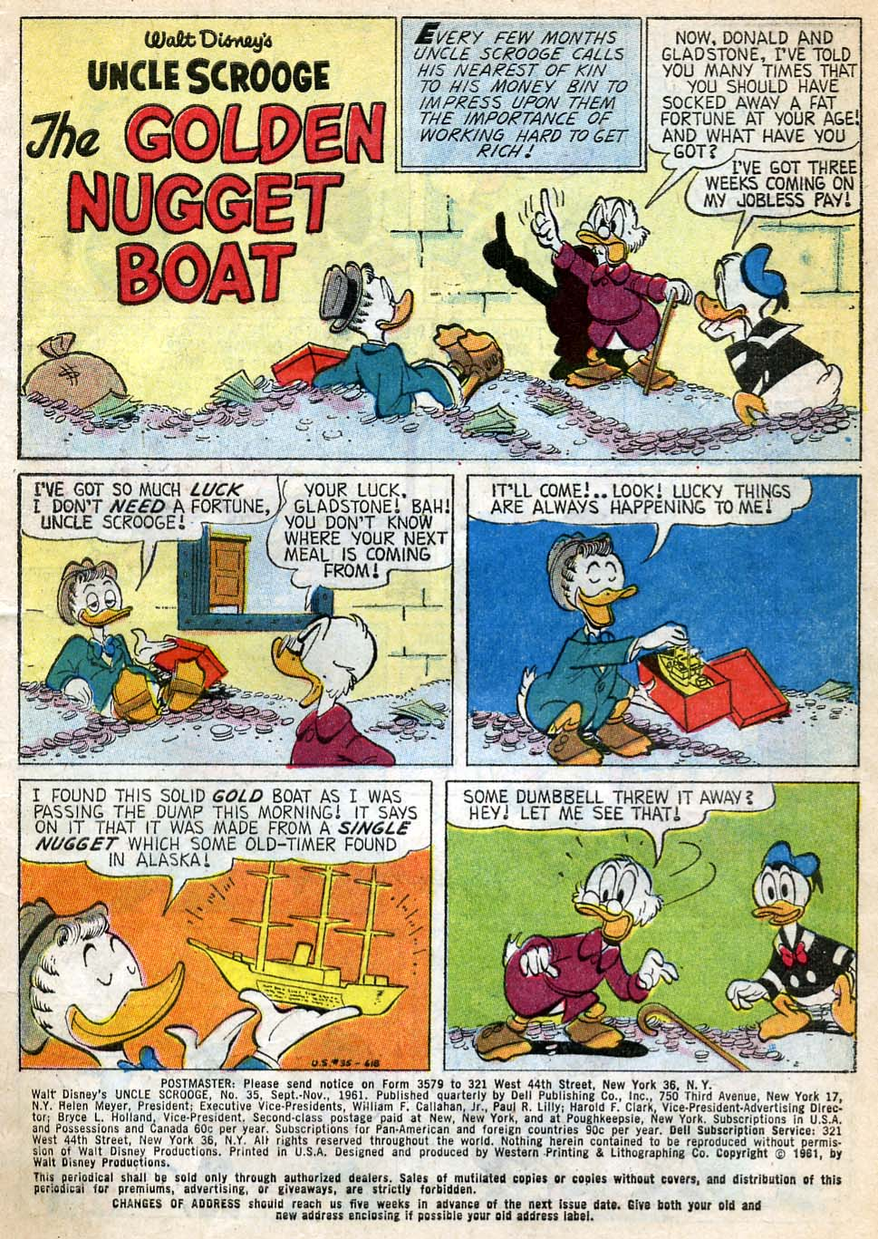 Read online Uncle Scrooge (1953) comic -  Issue #35 - 3