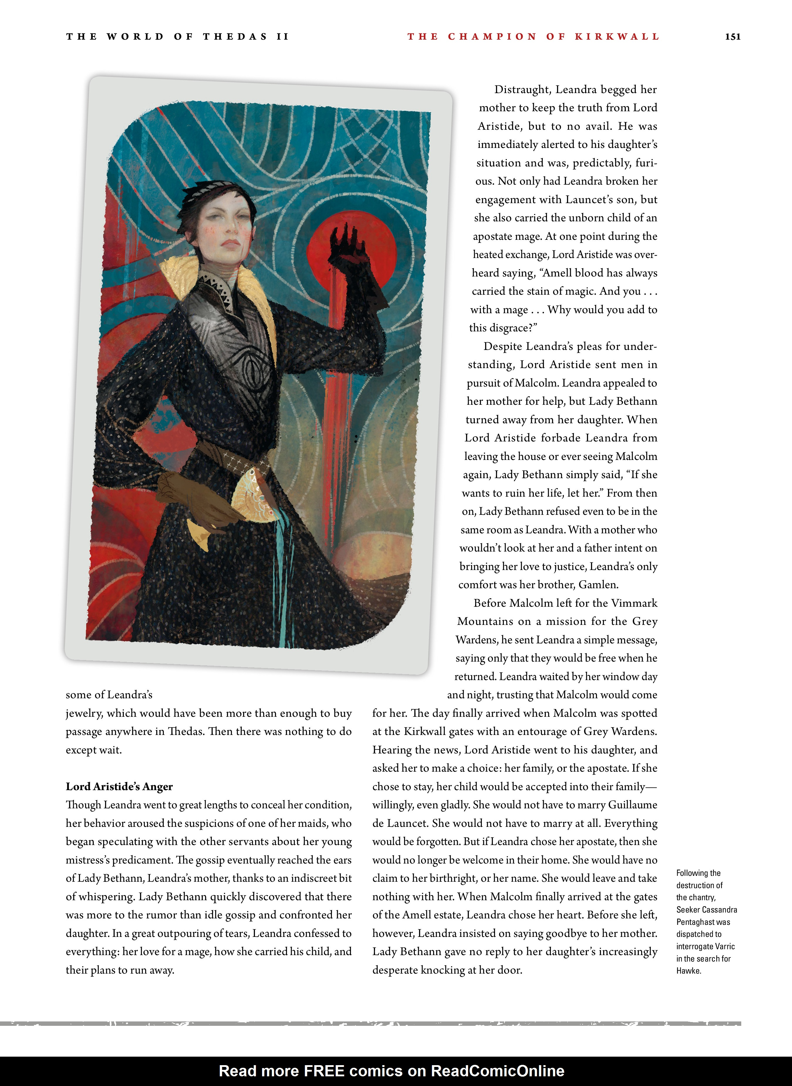 Read online Dragon Age: The World of Thedas comic -  Issue # TPB 2 - 147