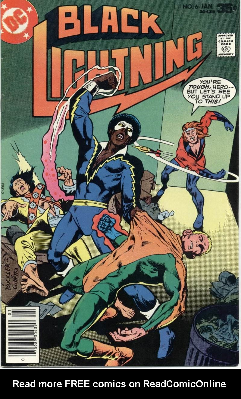 Black Lightning (1977) issue 6 - Page 1