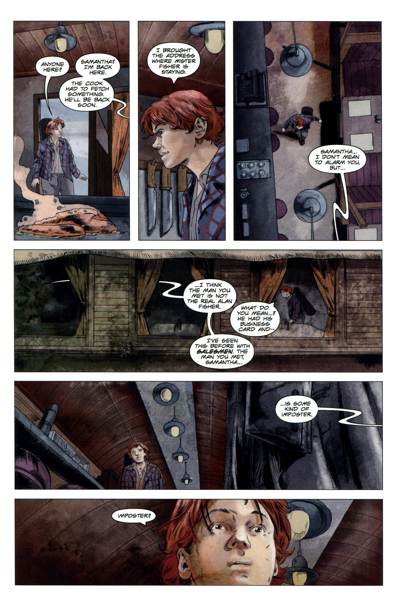 Read online Severed comic -  Issue #4 - 15