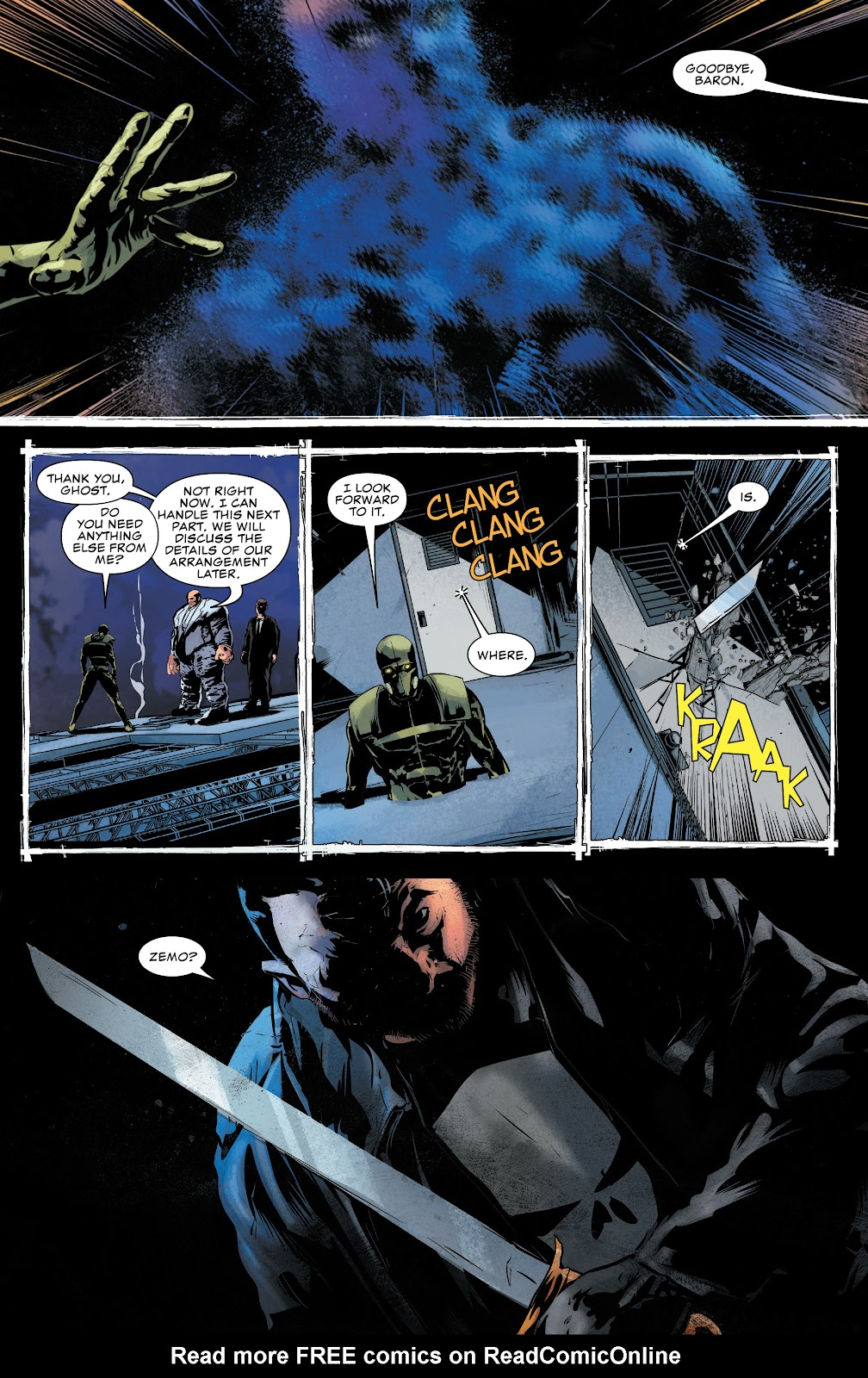 Read online The Punisher (2018) comic -  Issue #16 - 17