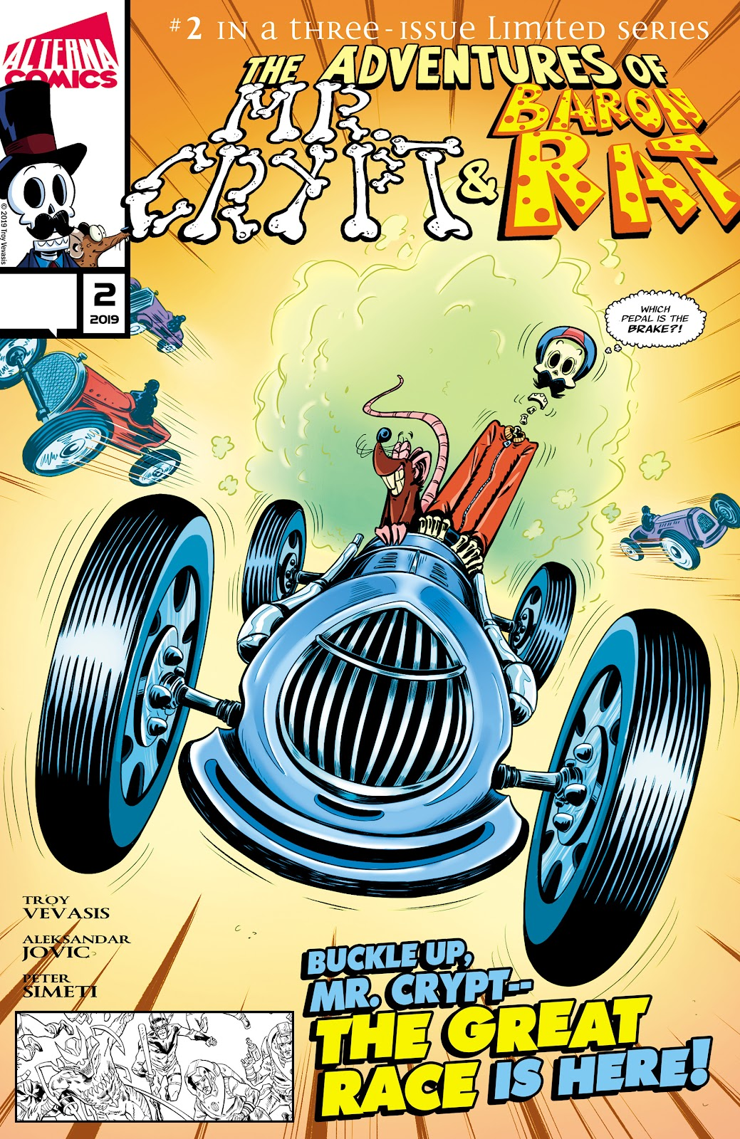 Read online The Adventures of Mr. Crypt and Baron Rat comic -  Issue #2 - 1