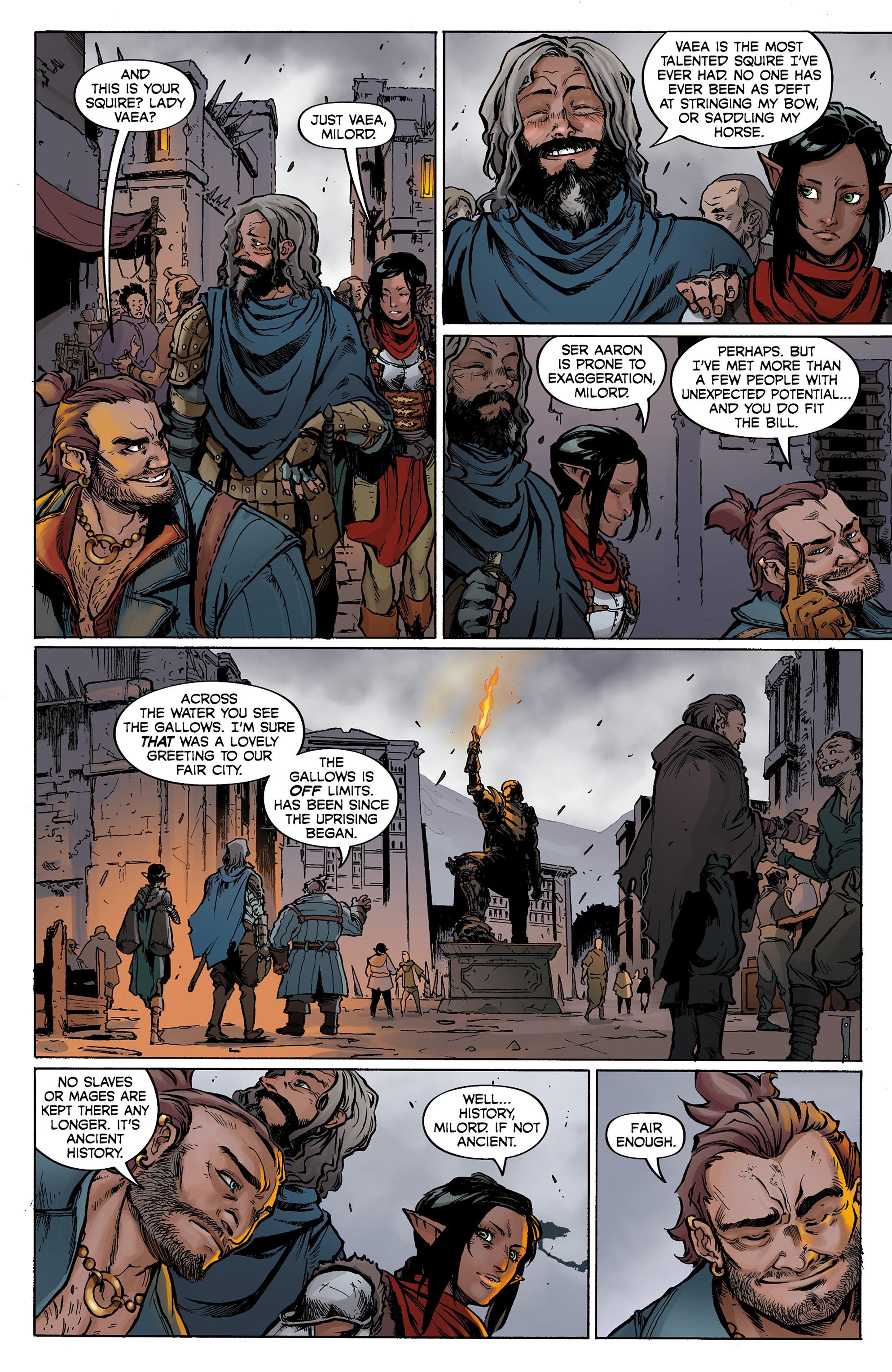 Read online Dragon Age: Knight Errant comic -  Issue #1 - 8