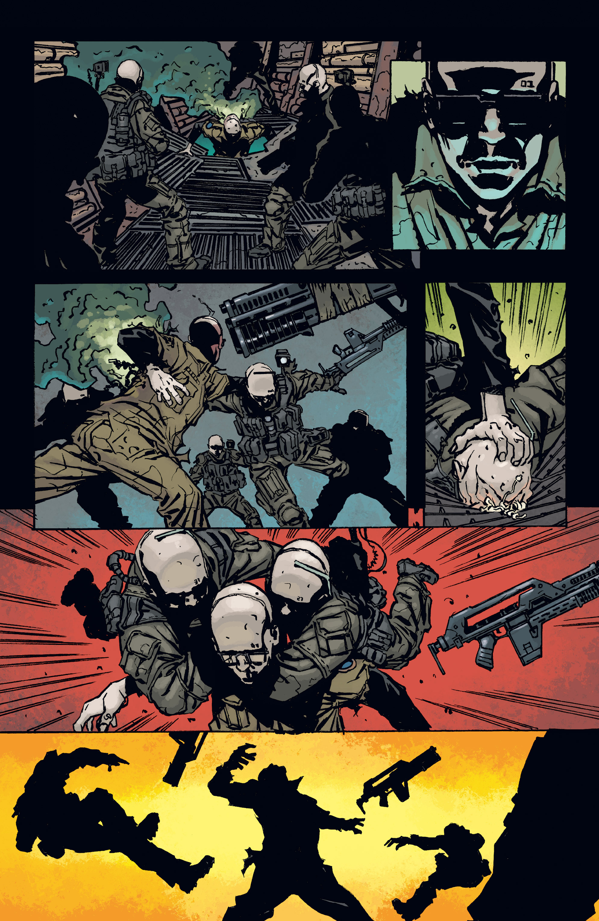 Read online Aliens: Defiance comic -  Issue #3 - 21
