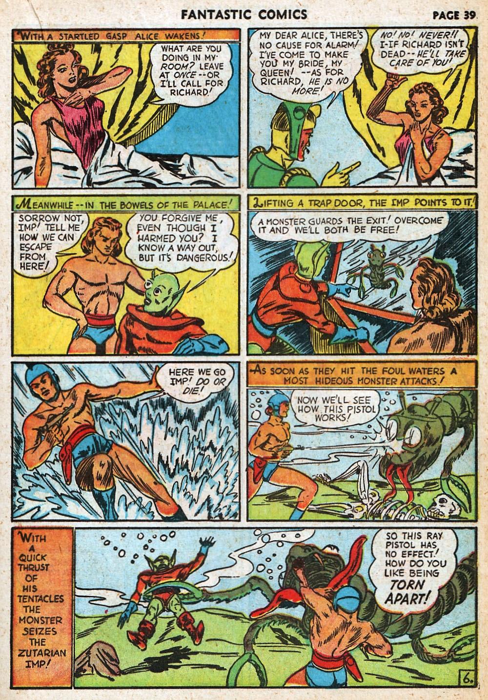 Read online Fantastic Comics comic -  Issue #20 - 39