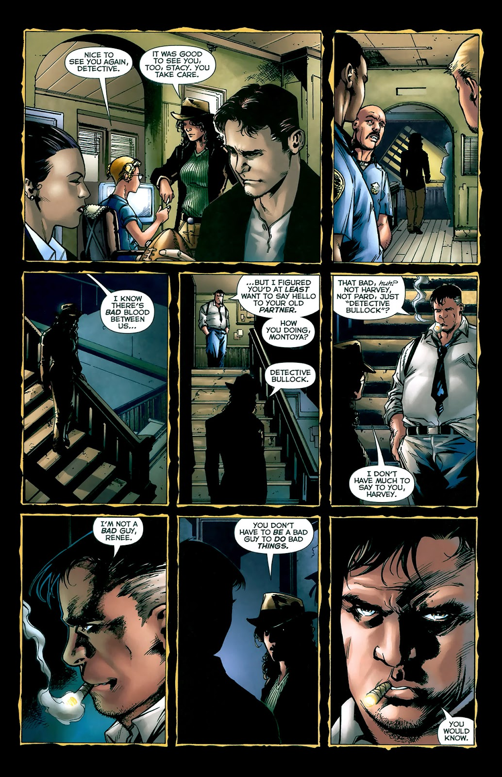 Crime Bible: The Five Lessons of Blood issue 3 - Page 8