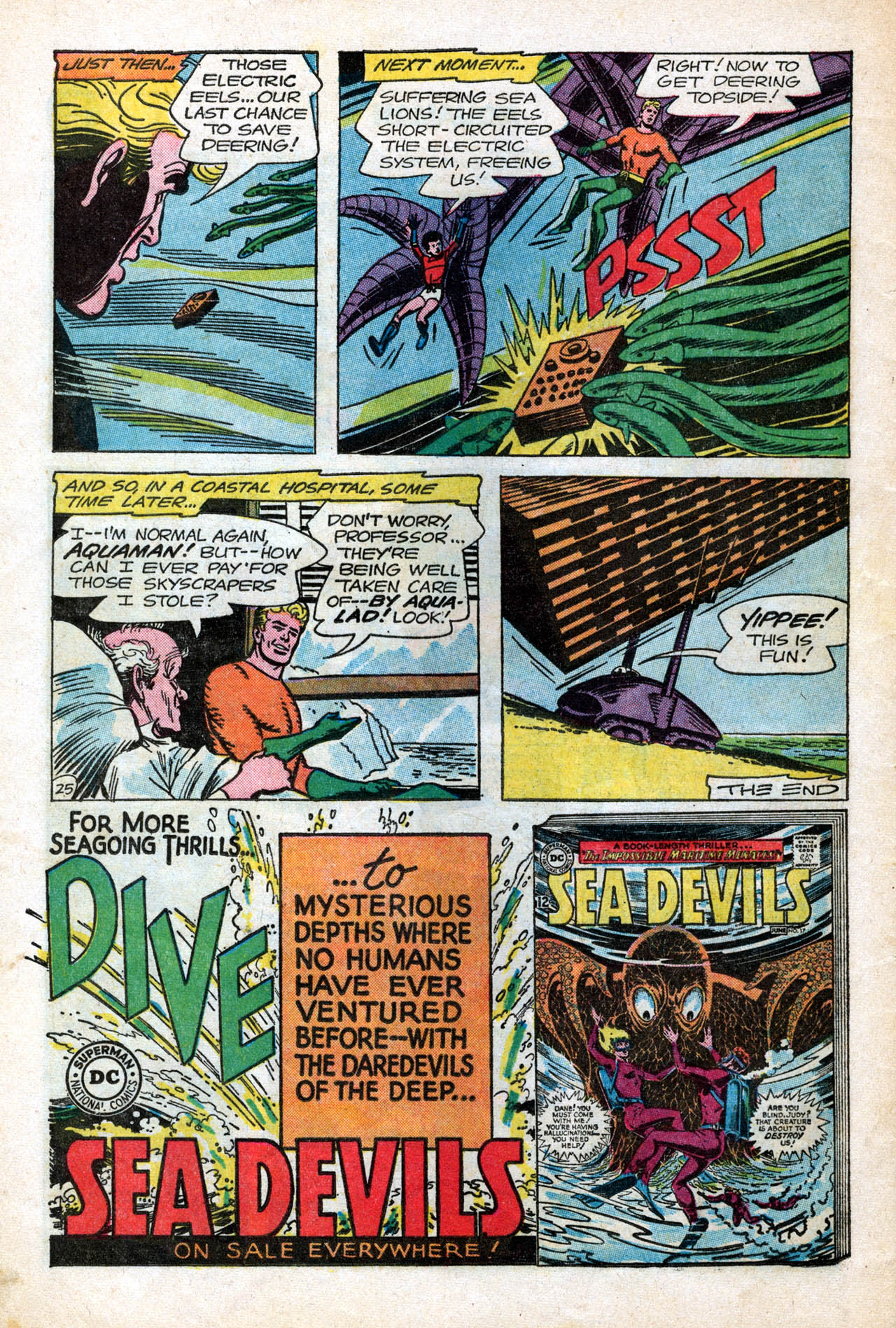 Read online Aquaman (1962) comic -  Issue #15 - 32
