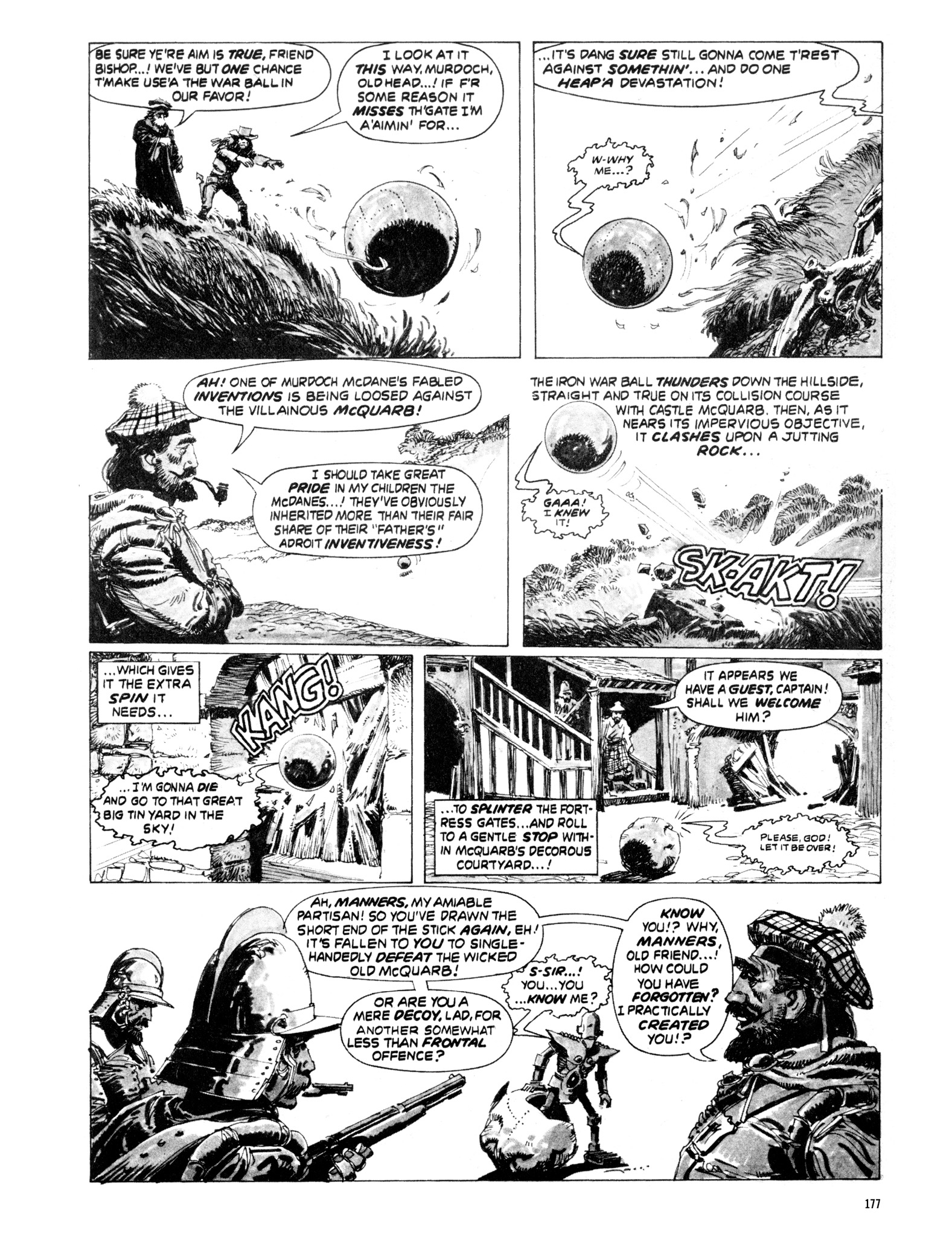 Read online Eerie Archives comic -  Issue # TPB 20 - 177