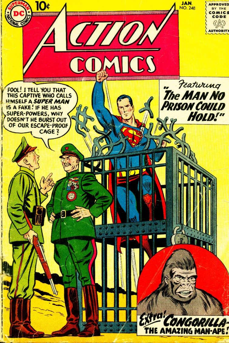 Read online Action Comics (1938) comic -  Issue #248 - 1