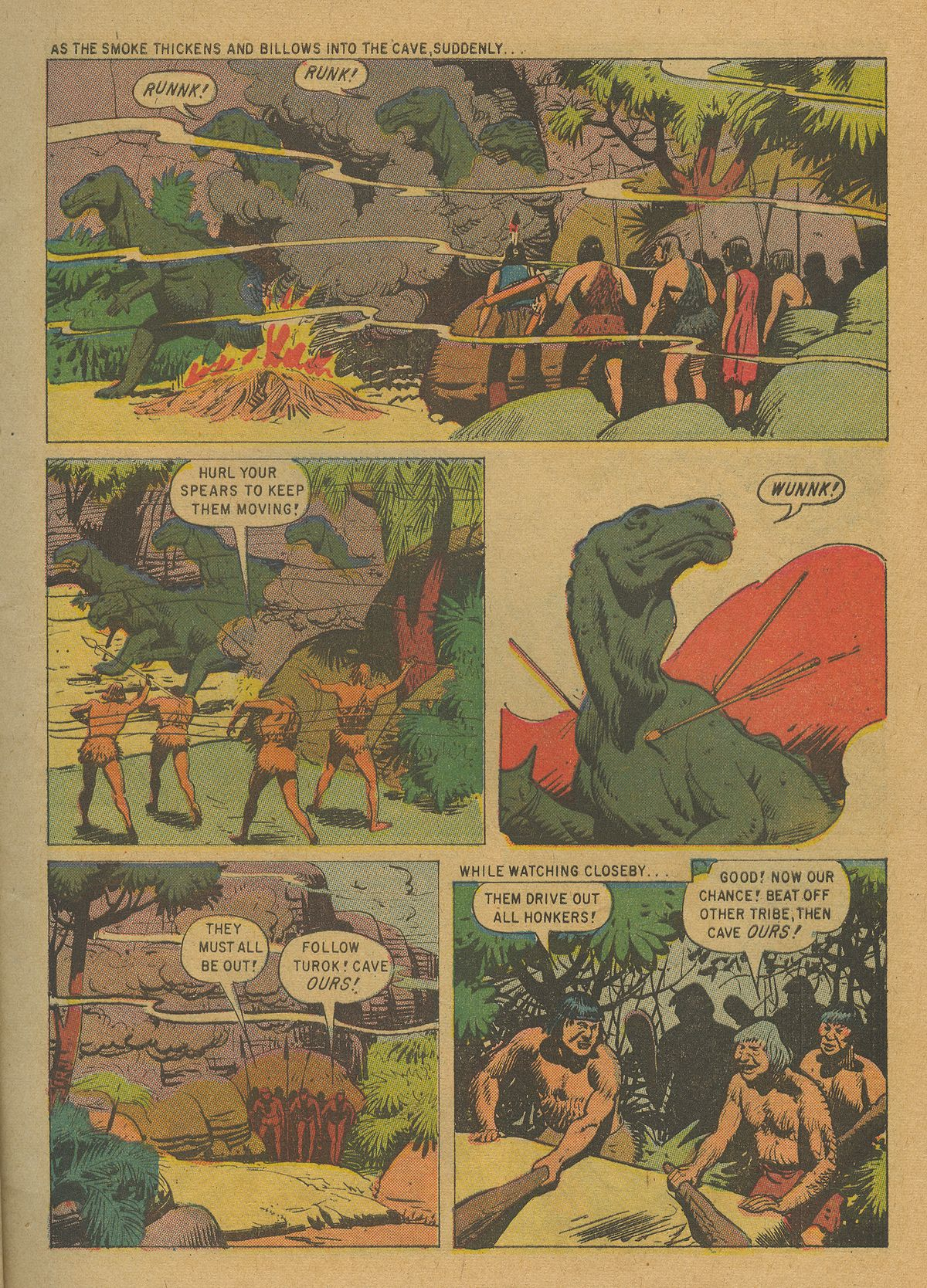 Read online Turok, Son of Stone comic -  Issue #20 - 9