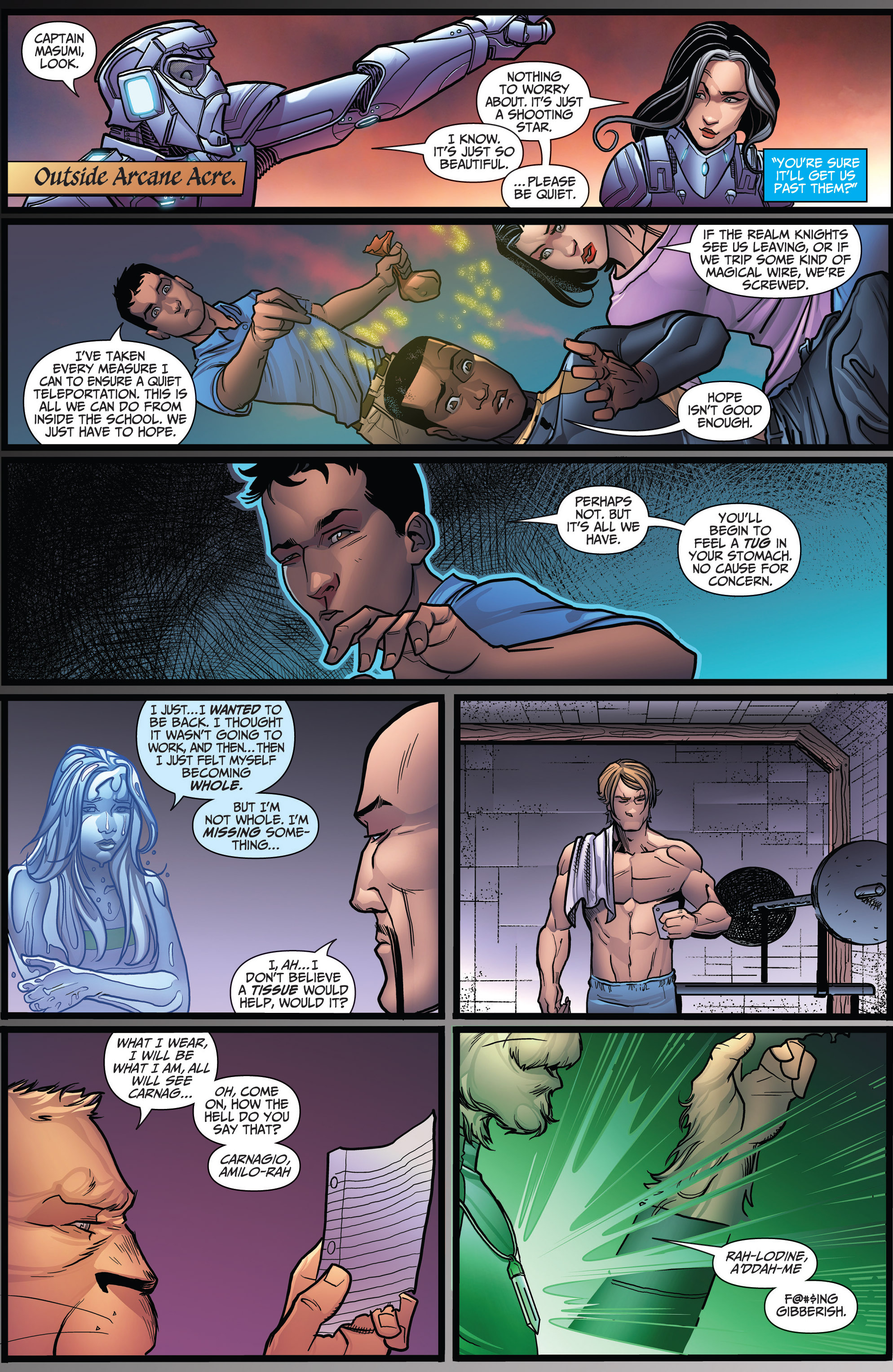 Read online Grimm Fairy Tales: Arcane Acre comic -  Issue # TPB 3 - 127