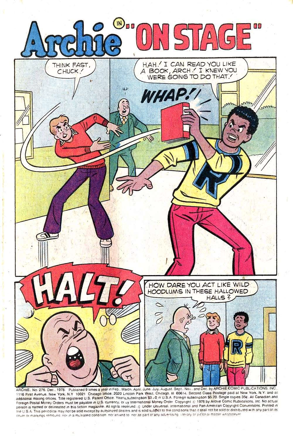 Read online Archie (1960) comic -  Issue #276 - 3