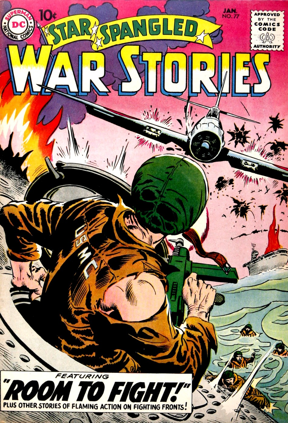 Star Spangled War Stories (1952) issue 77 - Page 1