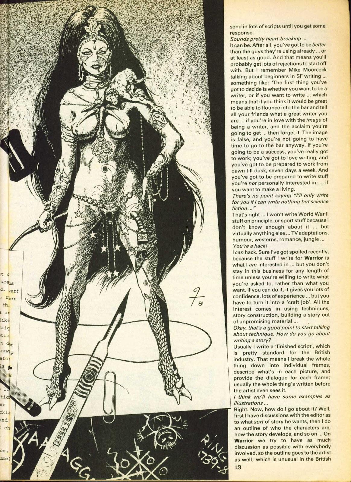 Warrior Issue #15 #16 - English 13