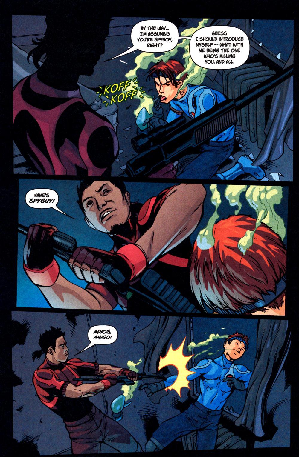 Read online SpyBoy: Final Exam comic -  Issue #1 - 8