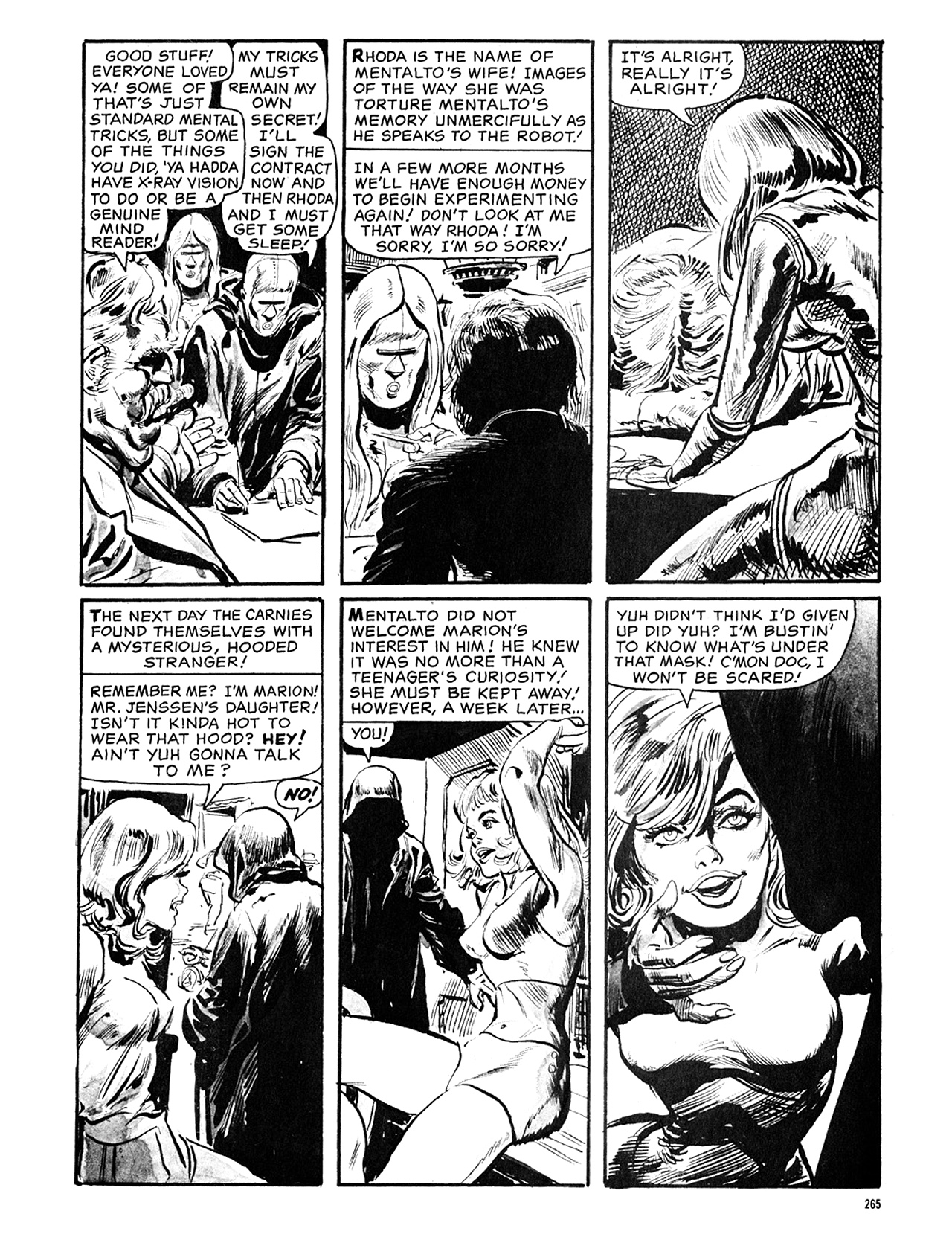 Read online Eerie Archives comic -  Issue # TPB 5 - 266