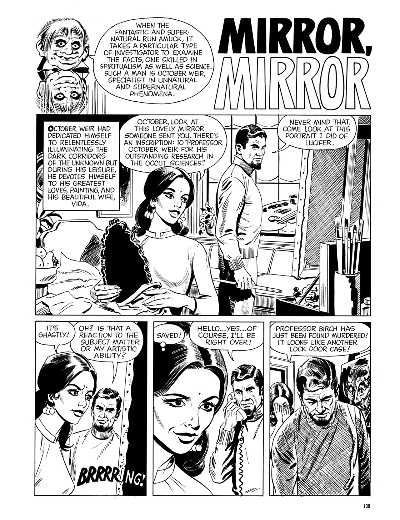 Read online Eerie Archives comic -  Issue # TPB 6 - 139