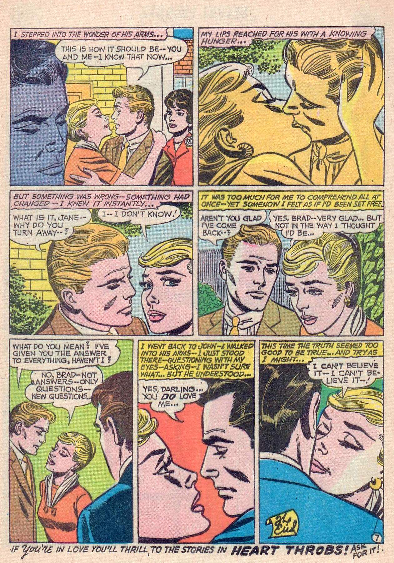 Read online Secret Hearts comic -  Issue #67 - 17
