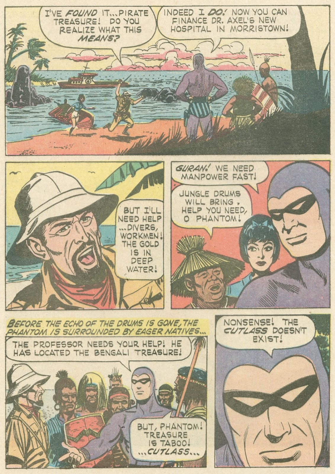The Phantom (1966) issue 21 - Page 3