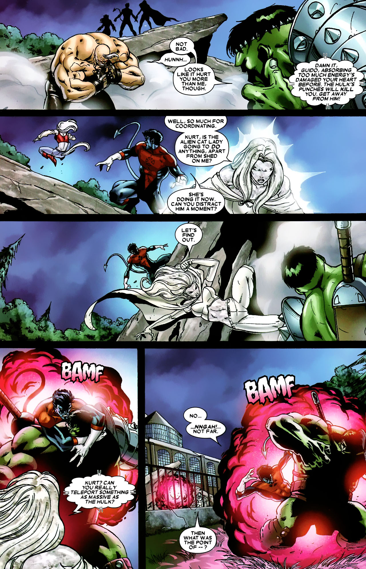 Read online World War Hulk: X-Men comic -  Issue #3 - 9