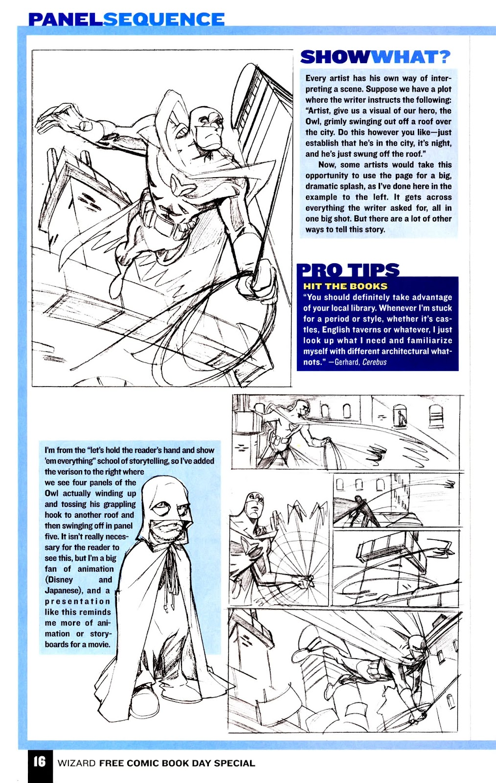 Read online Wizard How to Draw Sampler comic -  Issue # Full - 17