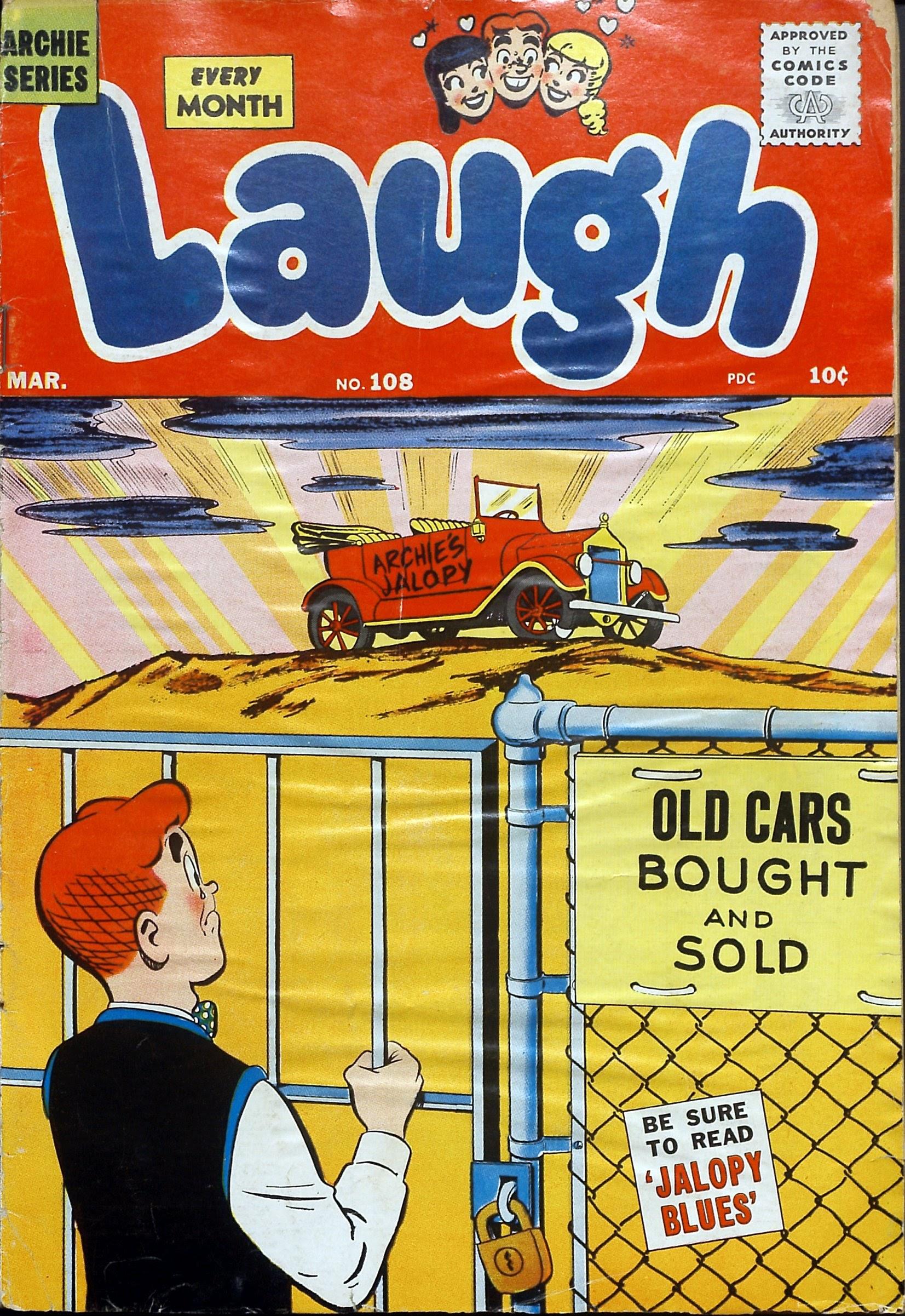Laugh (Comics) 108 Page 1