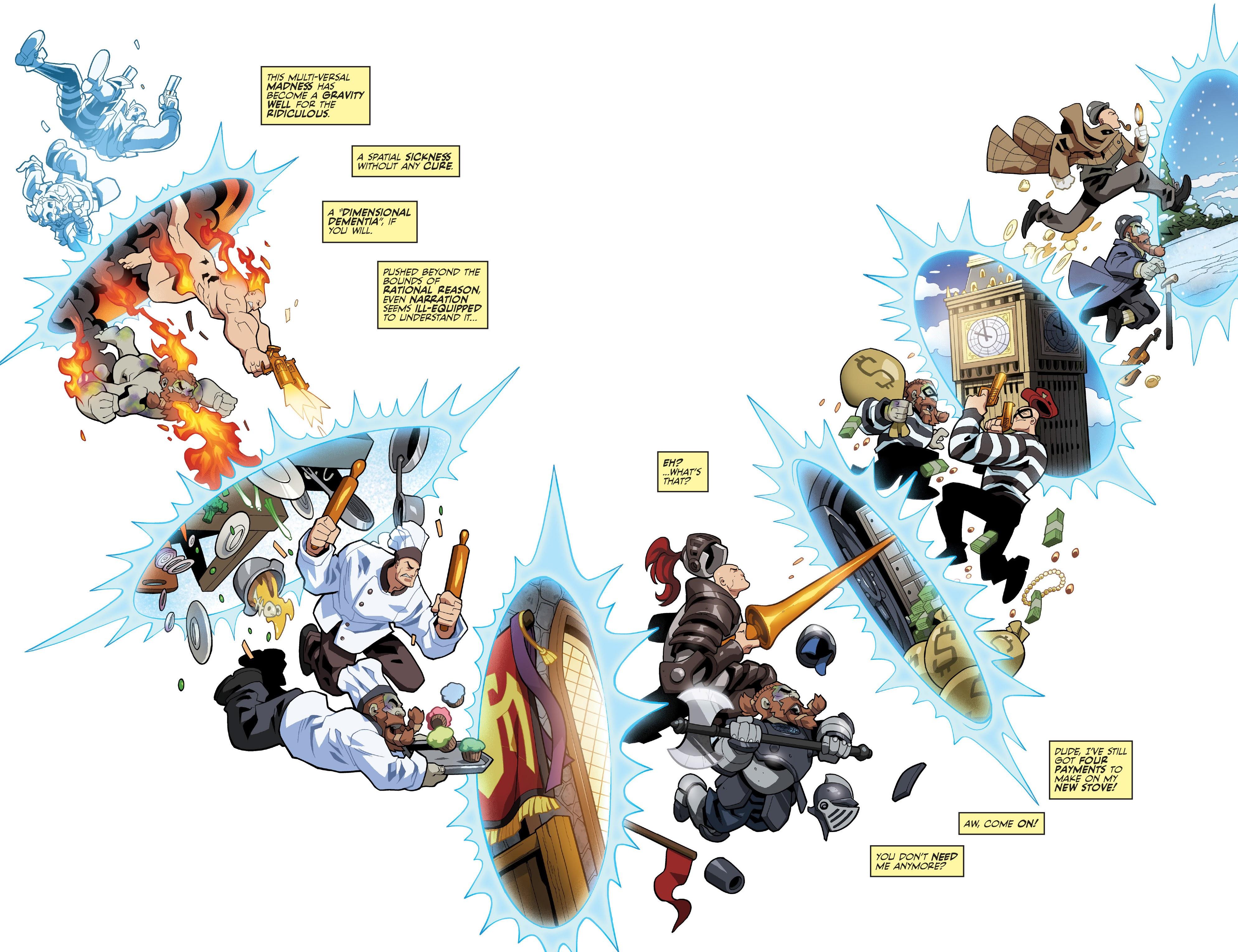Read online Skullkickers comic -  Issue #100 - 4