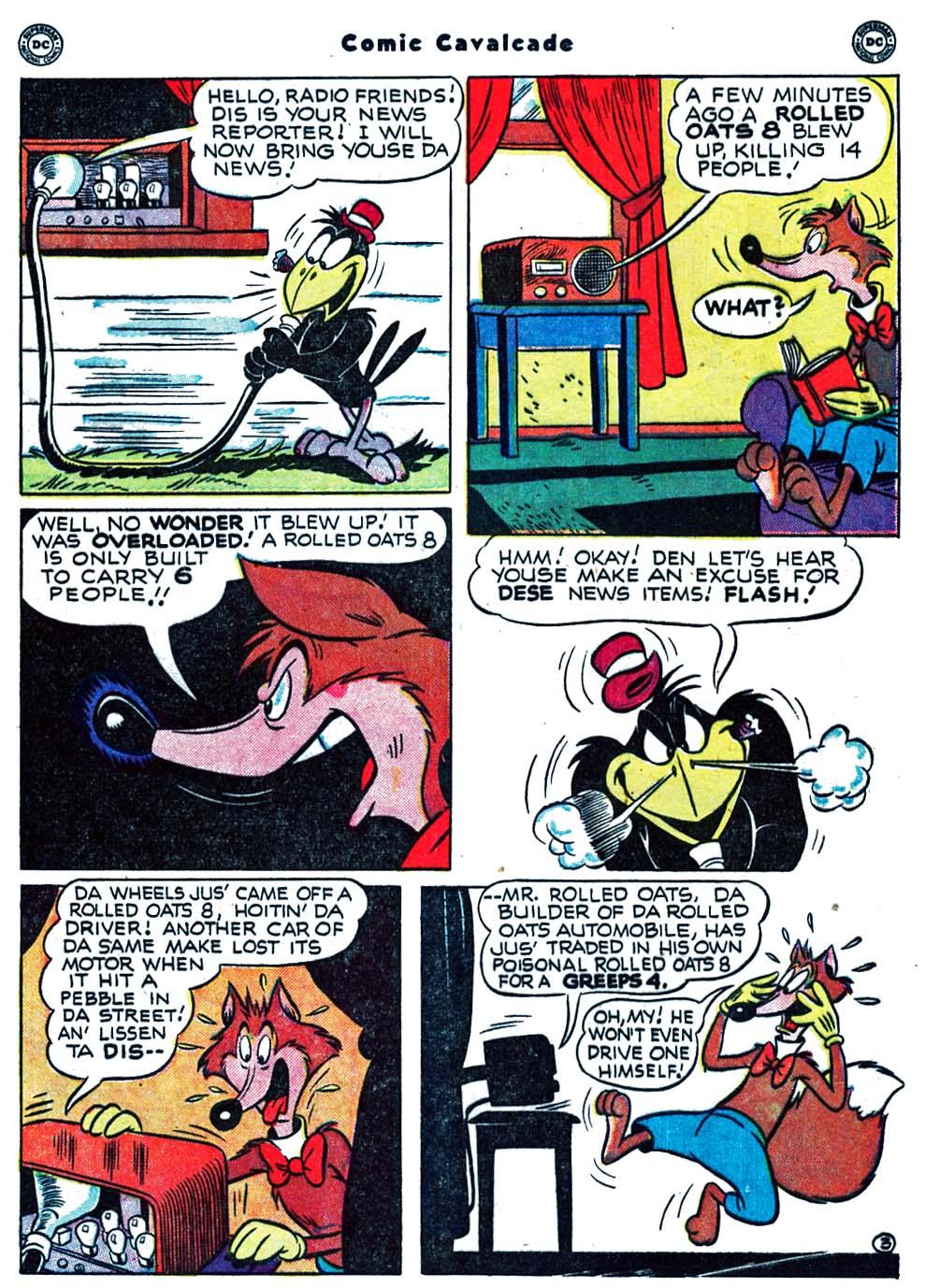 Comic Cavalcade issue 39 - Page 5