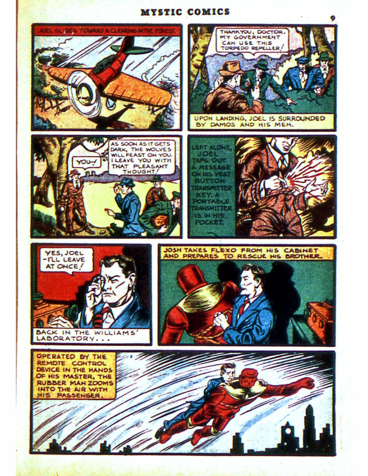 Mystic Comics (1940) issue 2 - Page 11