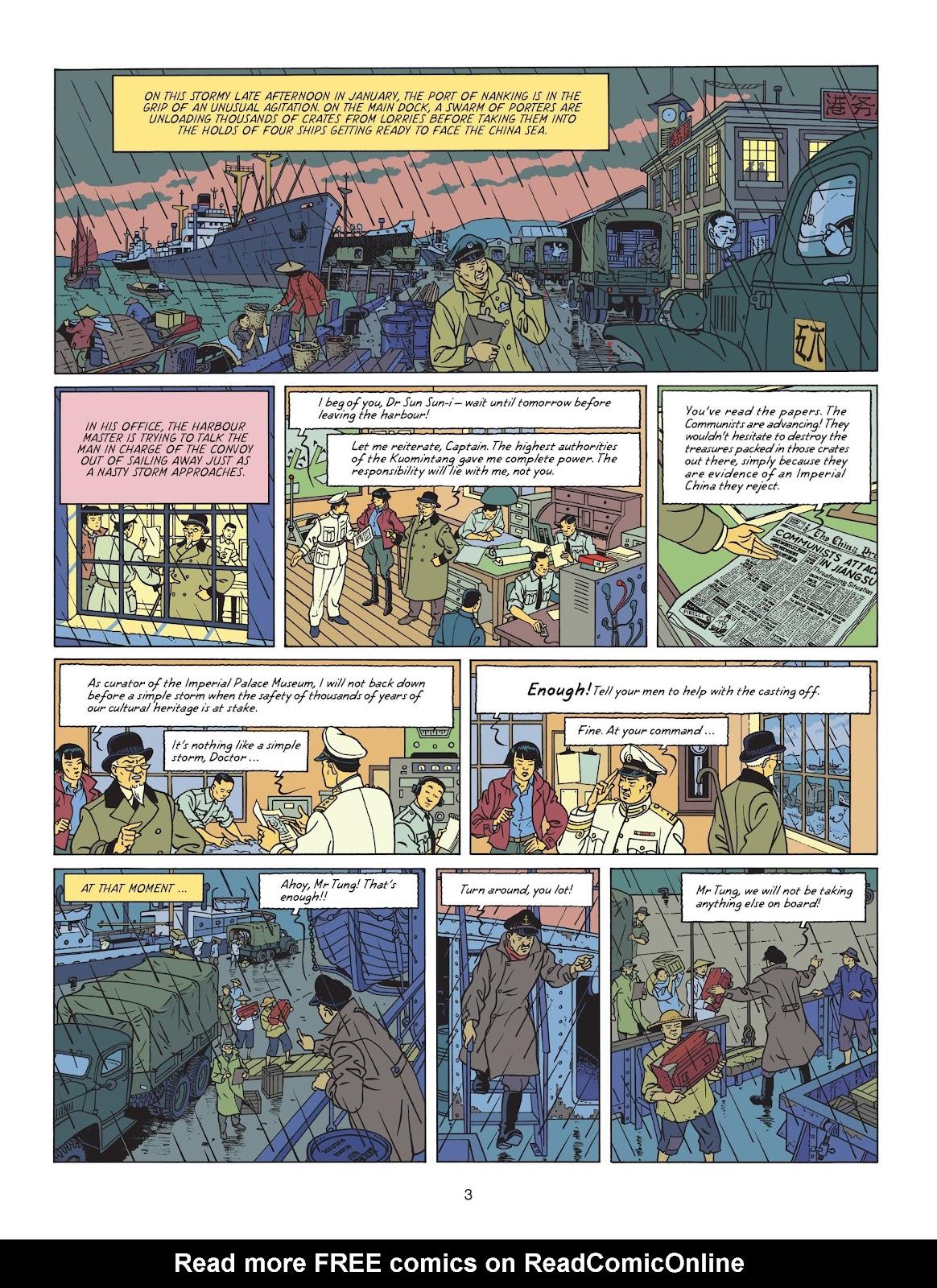Read online Blake & Mortimer comic -  Issue #25 - 5
