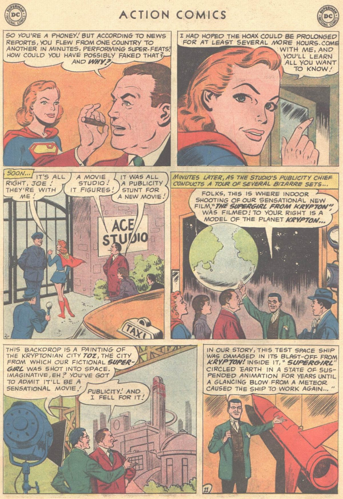Read online Action Comics (1938) comic -  Issue #268 - 29