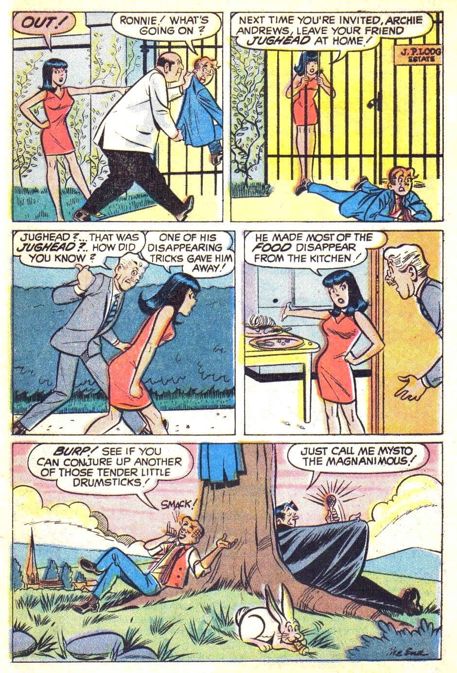 Read online Archie (1960) comic -  Issue #196 - 33