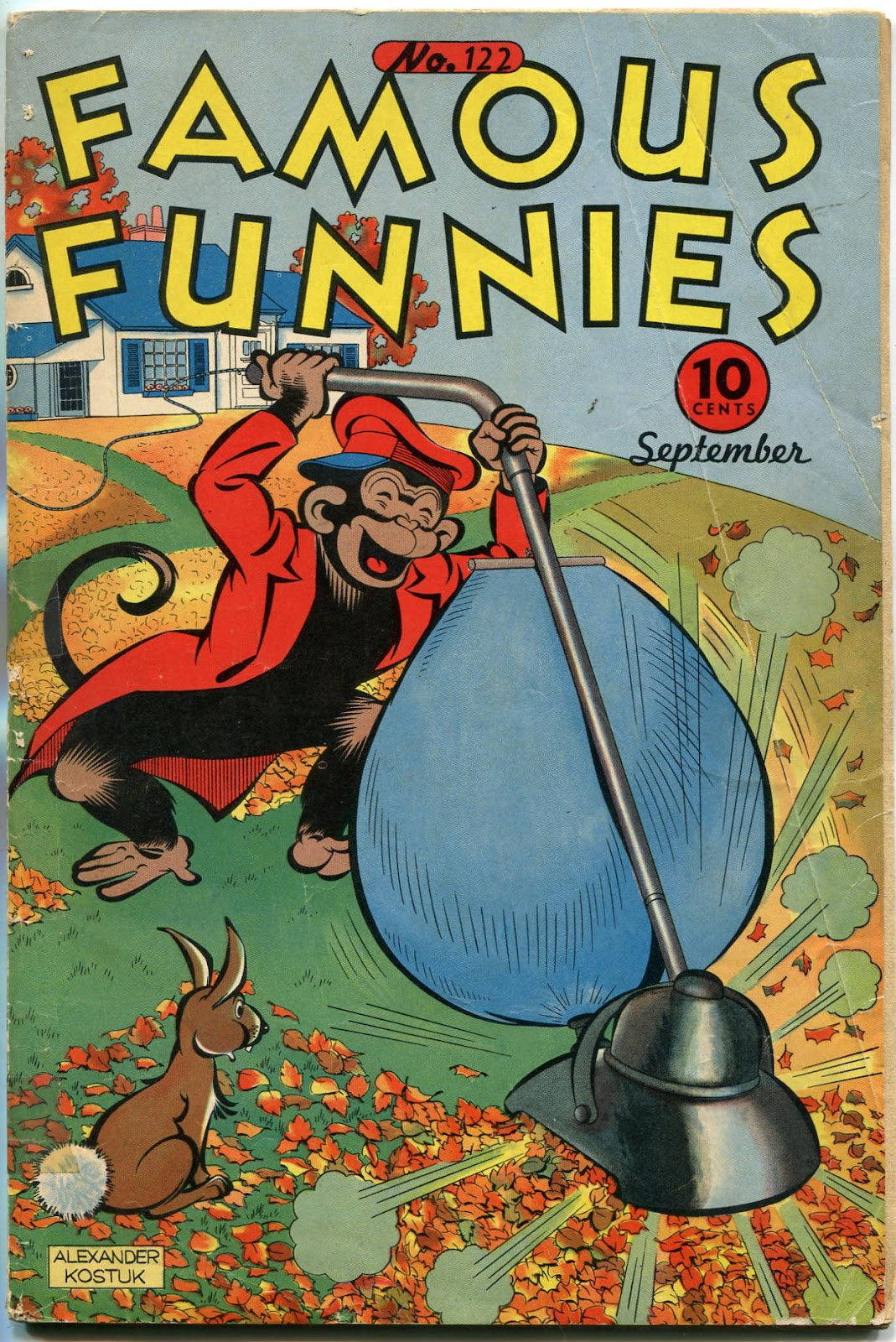 Read online Famous Funnies comic -  Issue #122 - 1