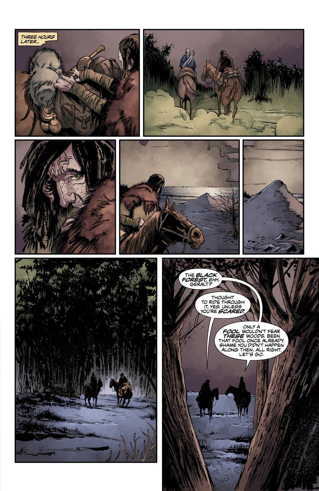 Read online The Witcher Omnibus comic -  Issue # TPB (Part 1) - 18