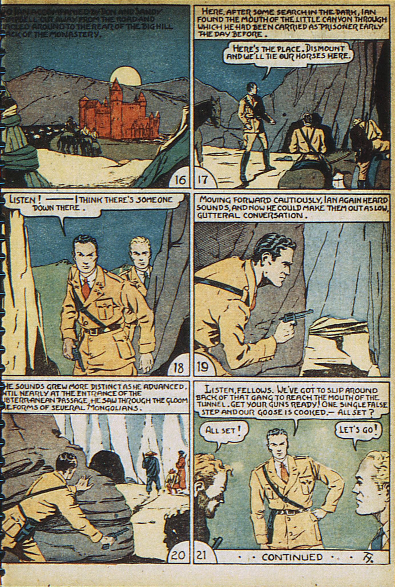 Read online Adventure Comics (1938) comic -  Issue #23 - 35