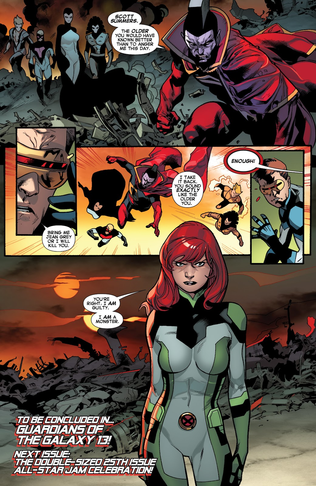 Guardians of the Galaxy/All-New X-Men: The Trial of Jean Grey issue TPB - Page 95