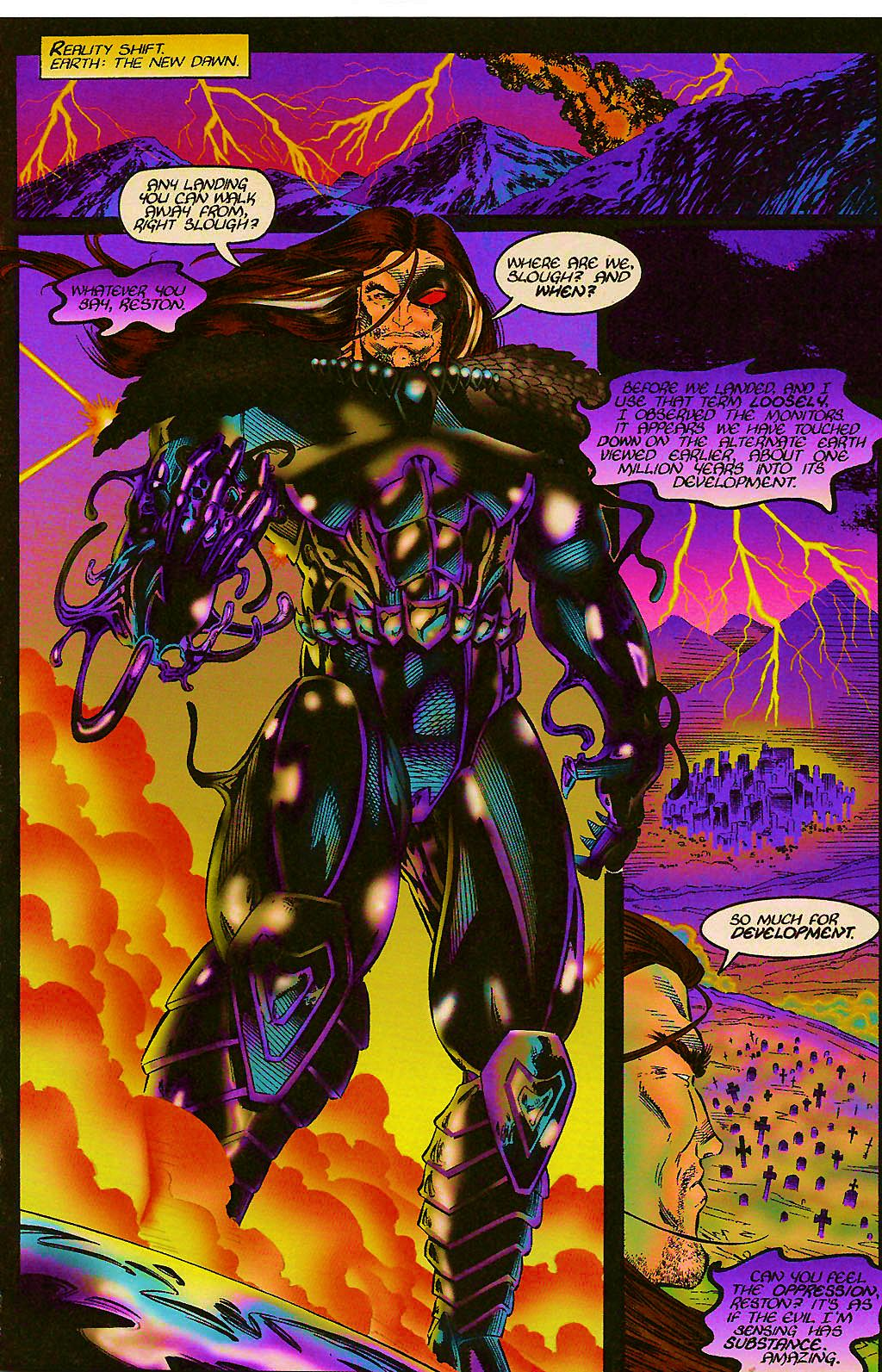 Read online Chains of Chaos comic -  Issue #1 - 15