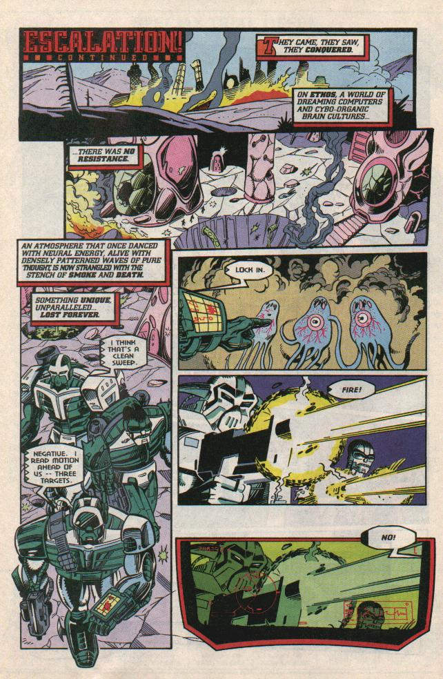 Read online Transformers: Generation 2 comic -  Issue #8 - 10