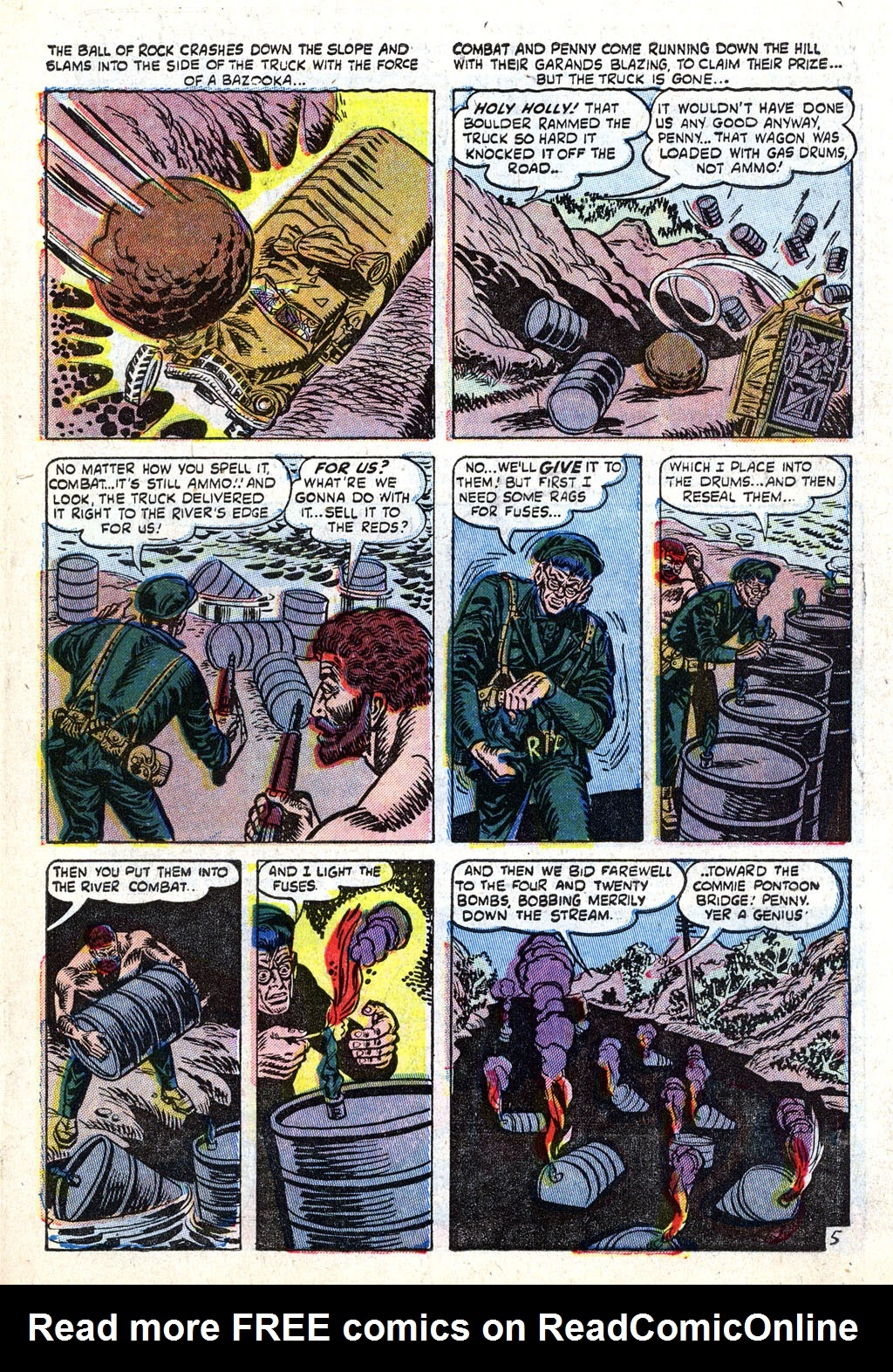 Combat (1952) issue 11 - Page 7