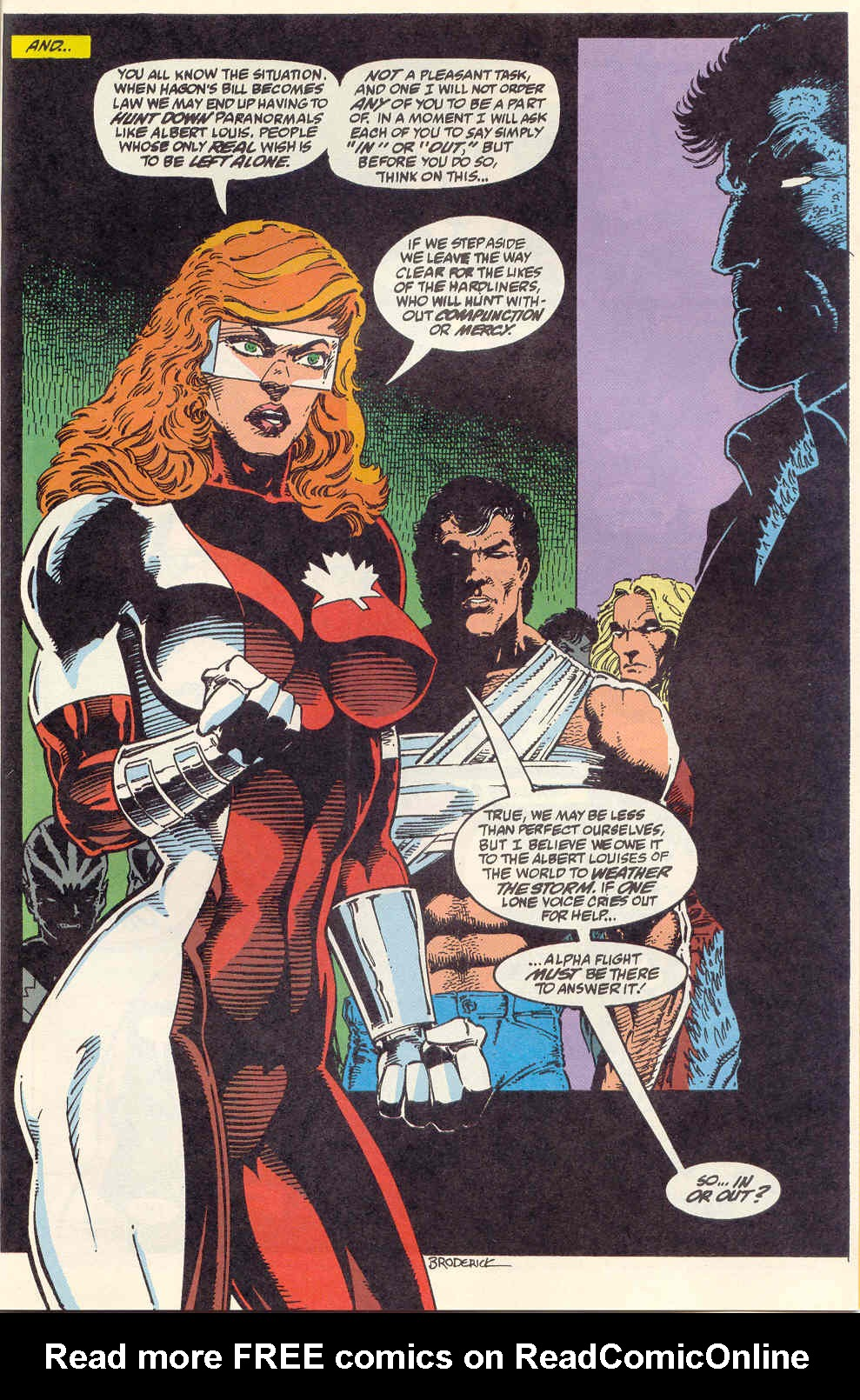 Read online Alpha Flight (1983) comic -  Issue #120 - 24