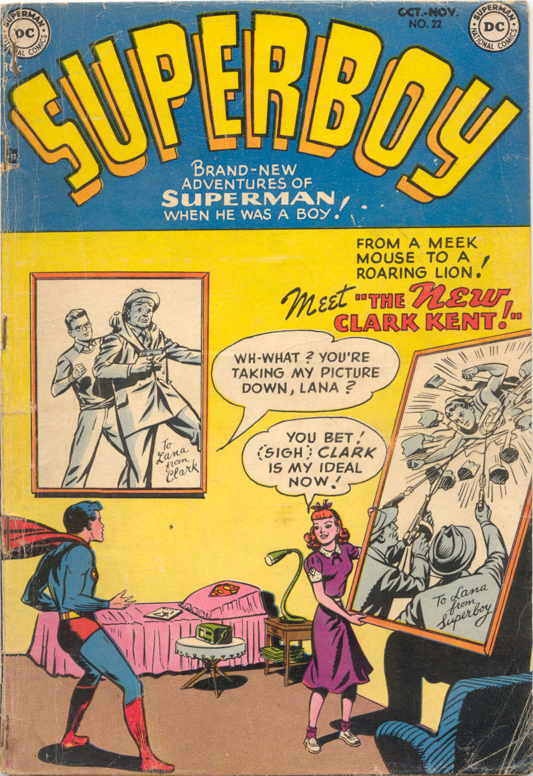 Superboy (1949) issue 22 - Page 1